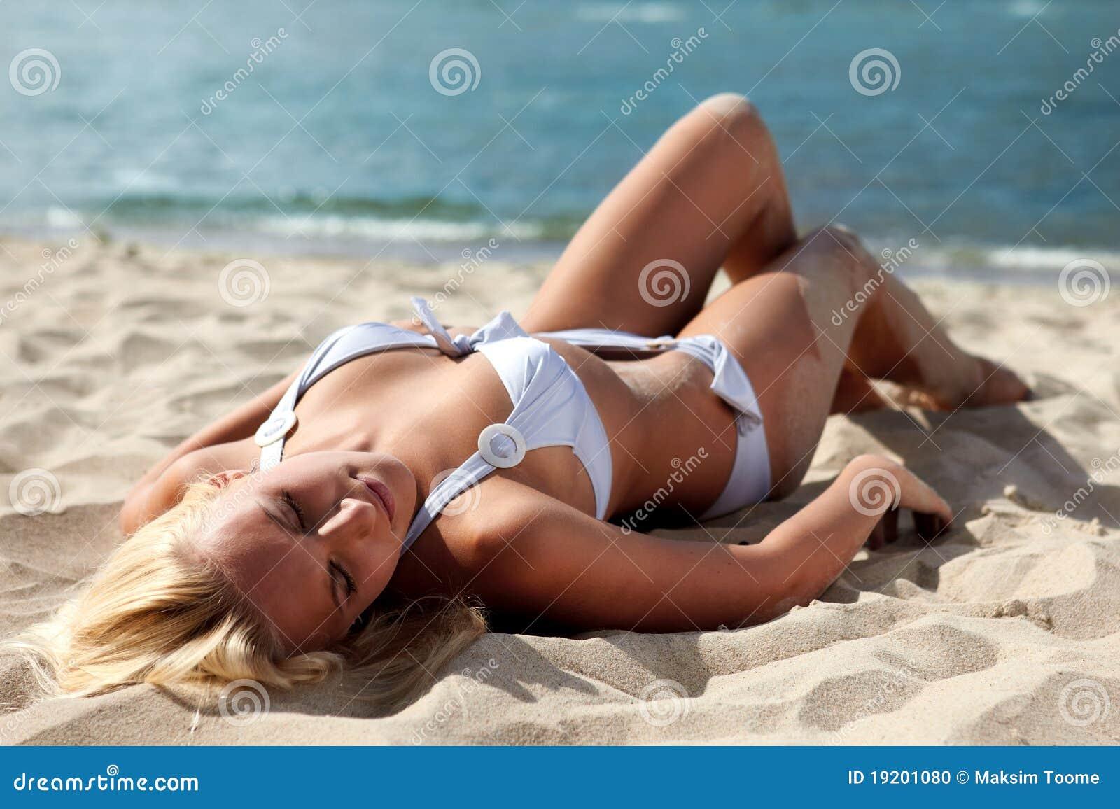 Sur une plage