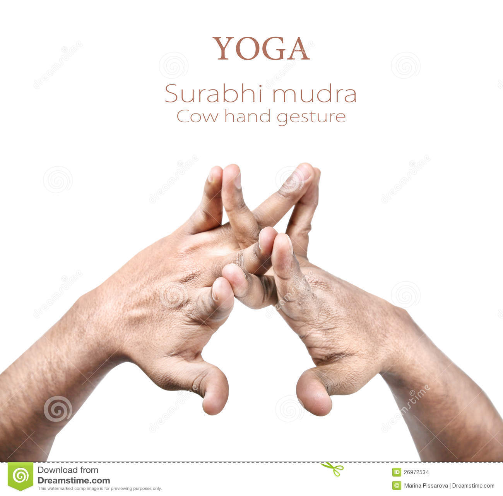 Surabhi Mudra Stock Images - Image: 26972534