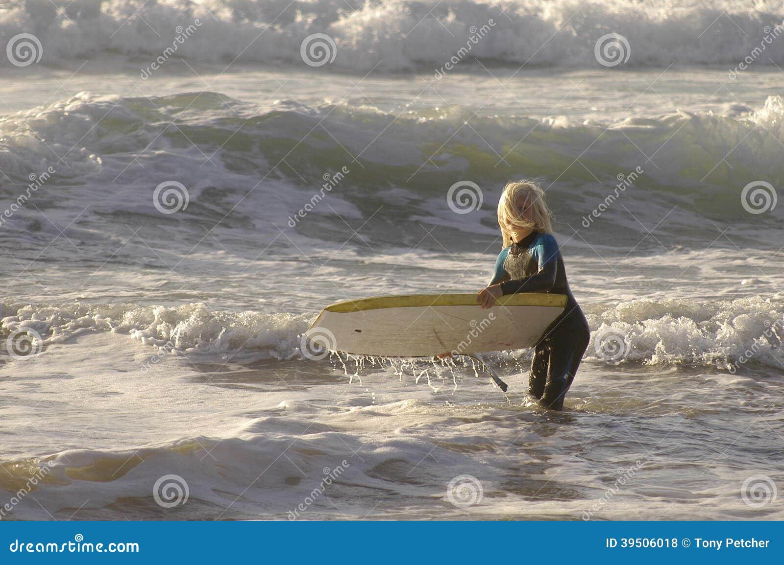 Surf Body Board Boy