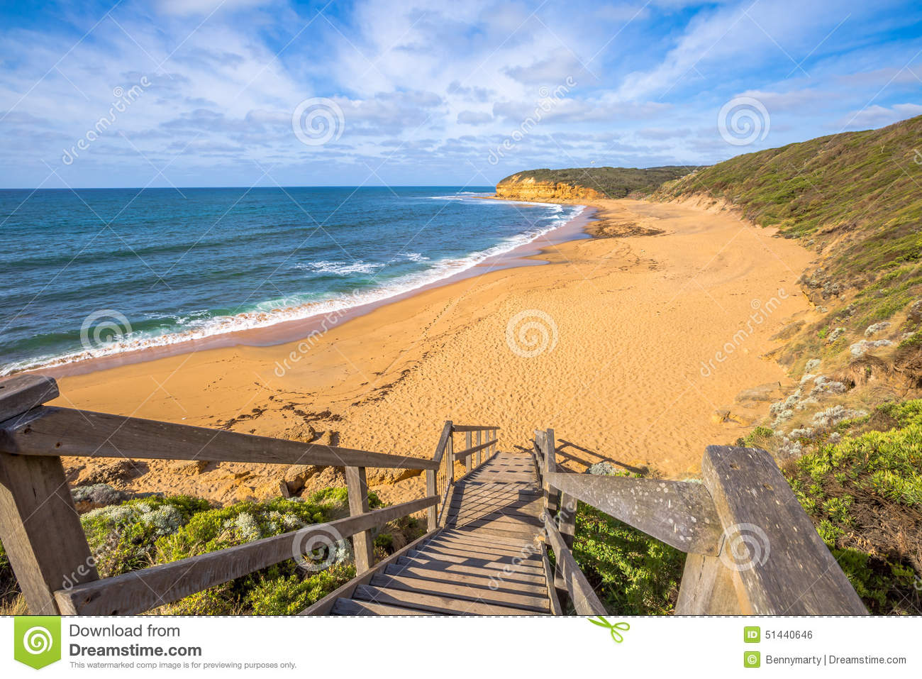 Torquay Victoria Stock Photo Image Of View Landscapes