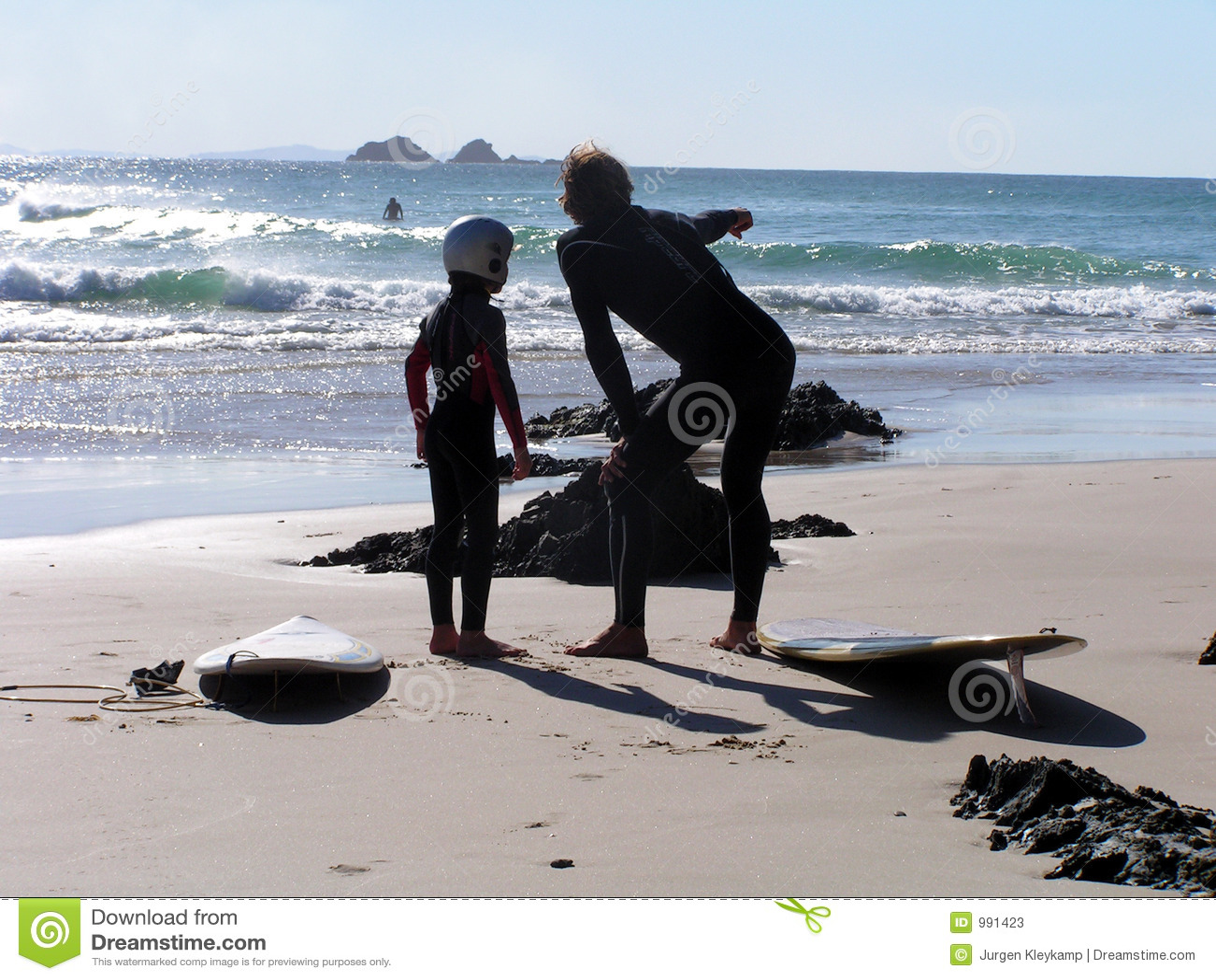Surf instructor