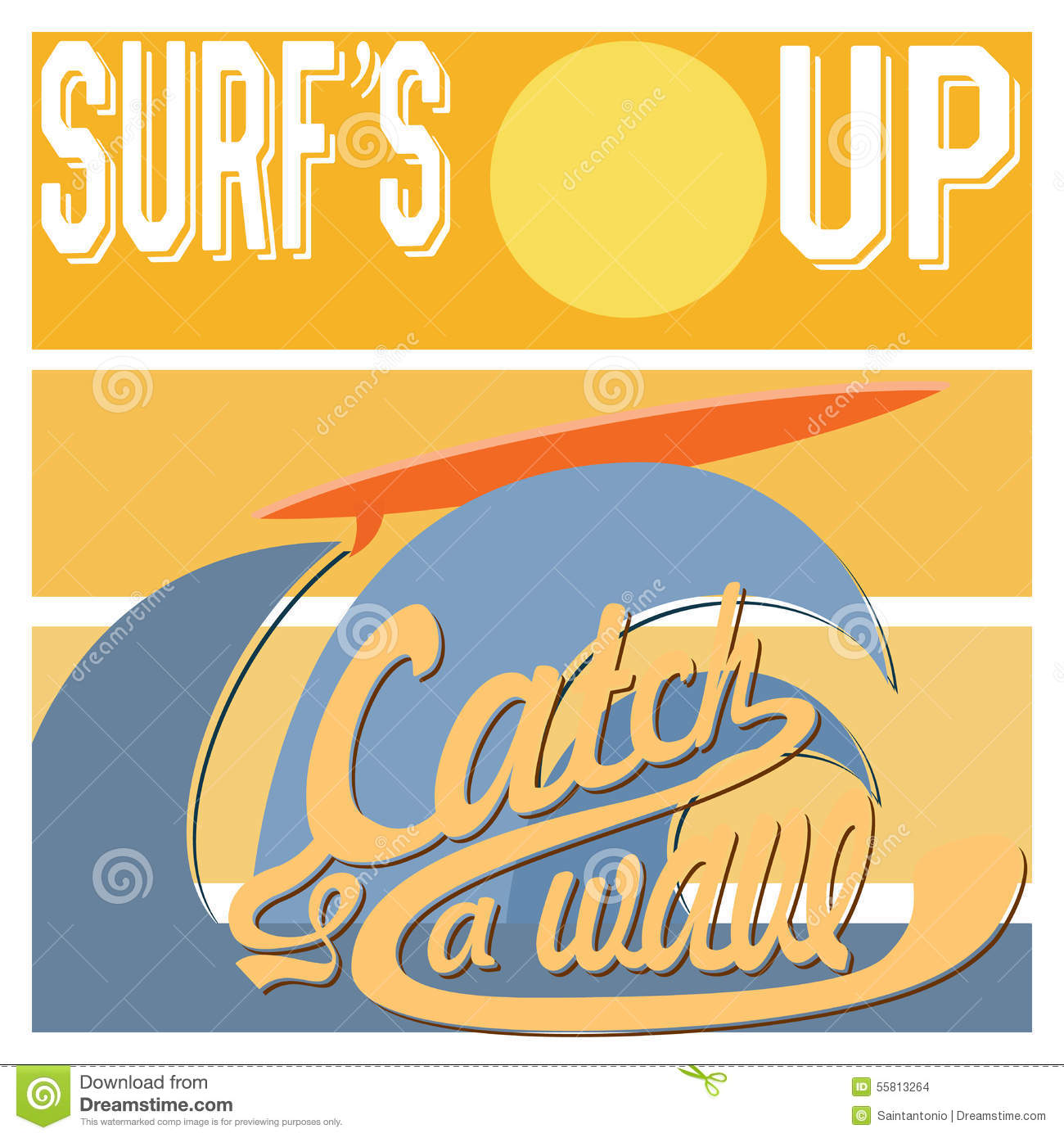 Surf S Up Typography T Shirt Printing Design Graphics Retro Vintage Vector Poster Badge Applique Label California Equipment
