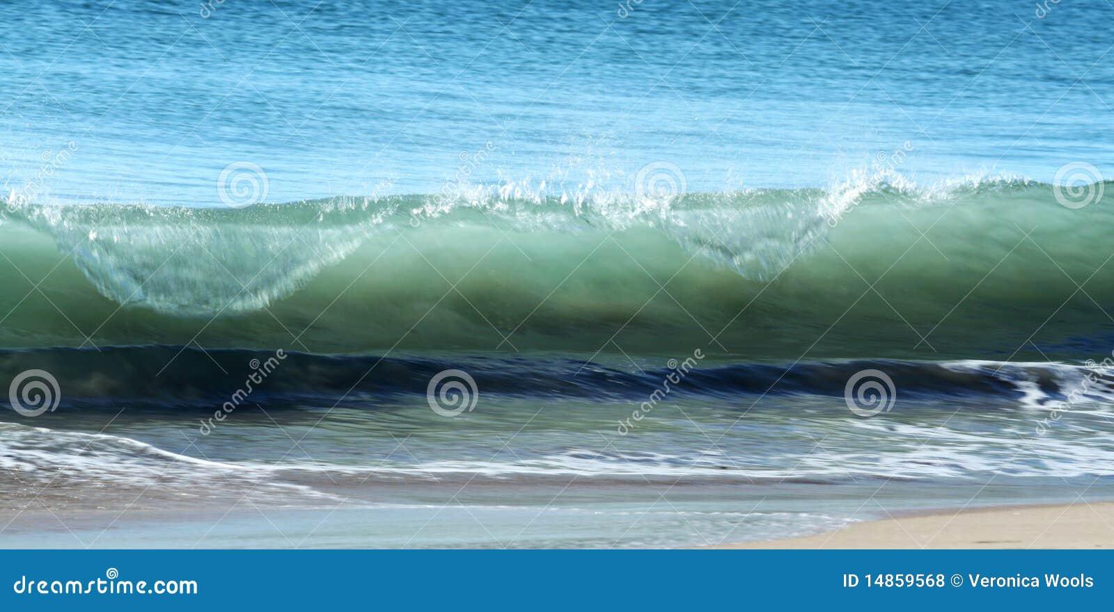 Surf Waves & beach sand