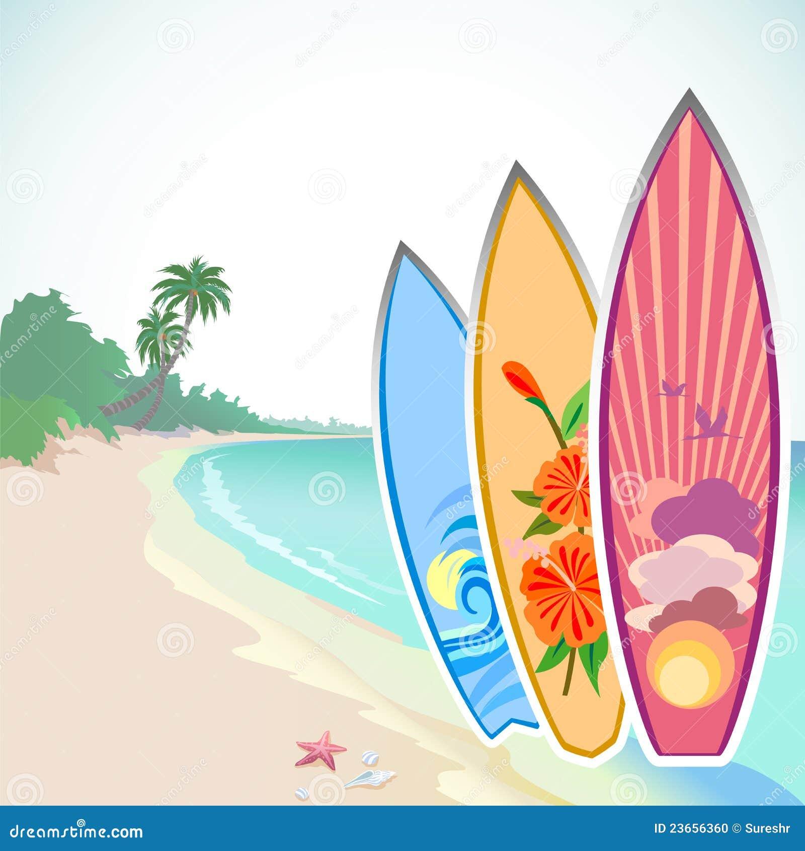 Surfa för affärsföretagö som är tropiskt