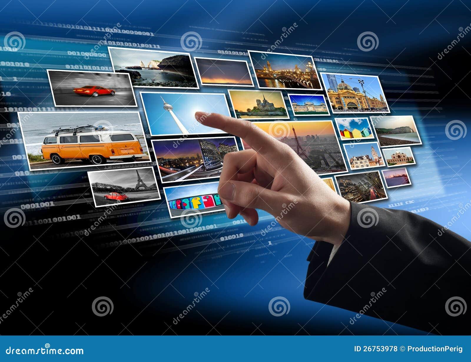Surface adjacente d écran tactile