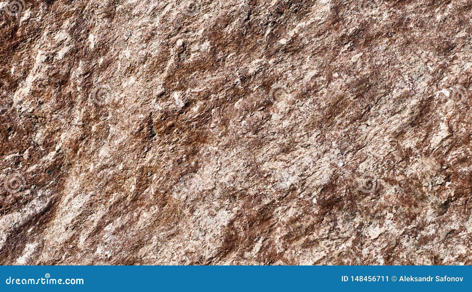 Surface de relief par fond texturisé de pierre