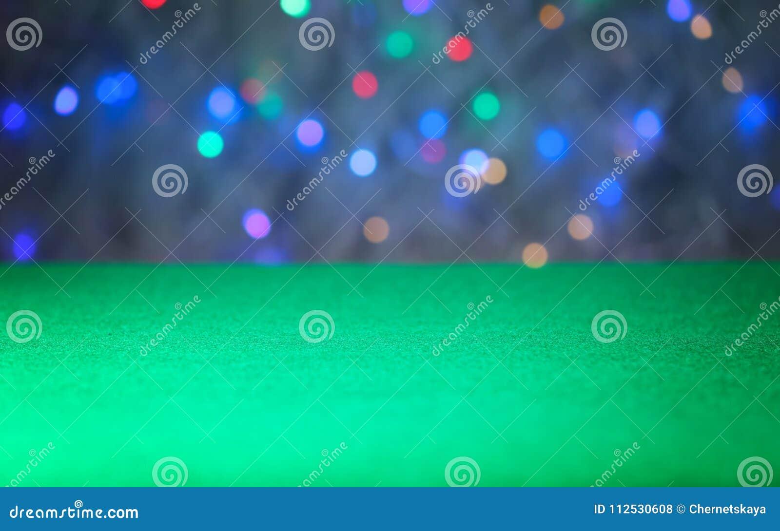 Surface de table de jeu verte