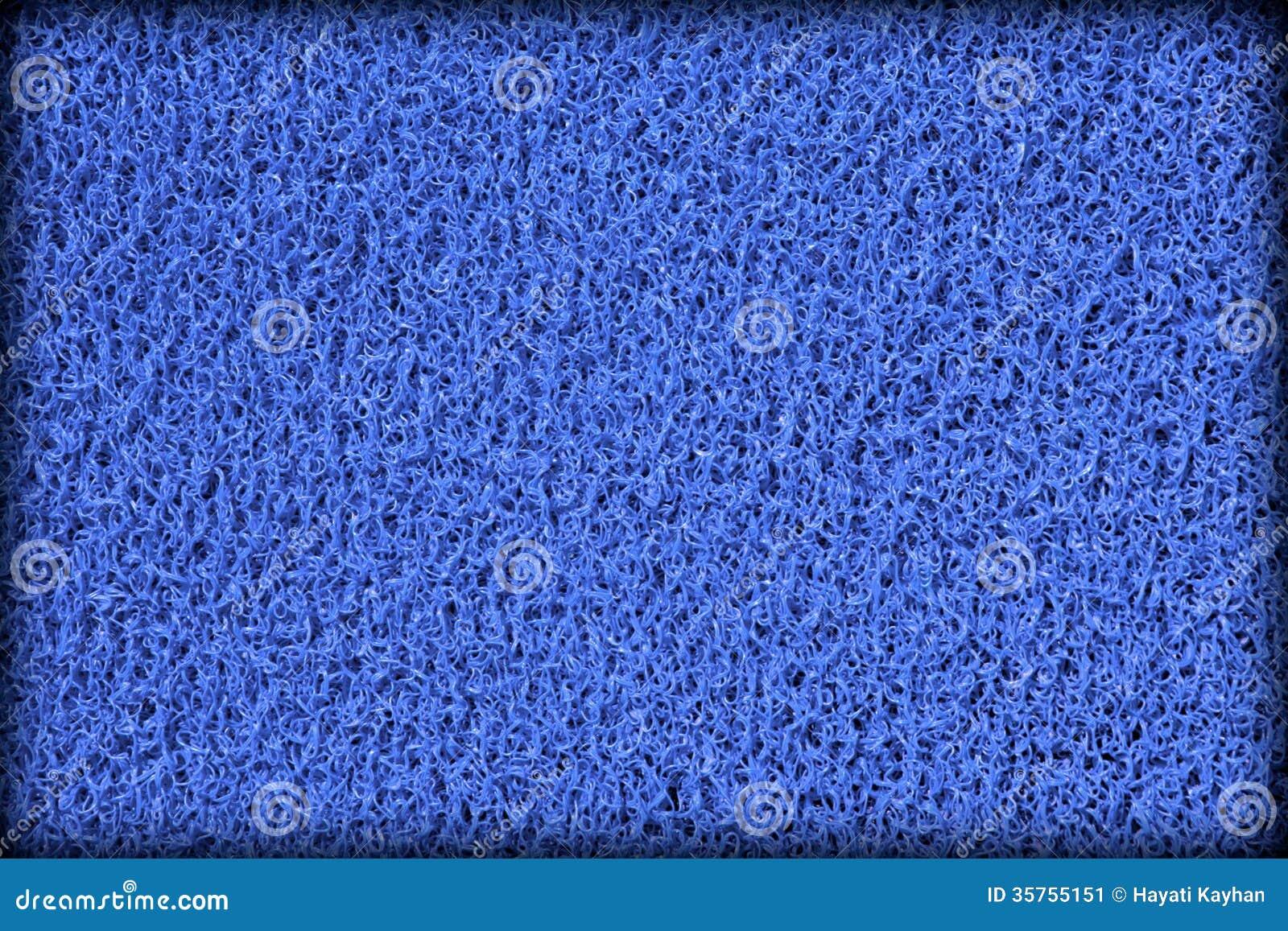Surface de tapis en caoutchouc bleu de piscine image stock for Piscine caoutchouc