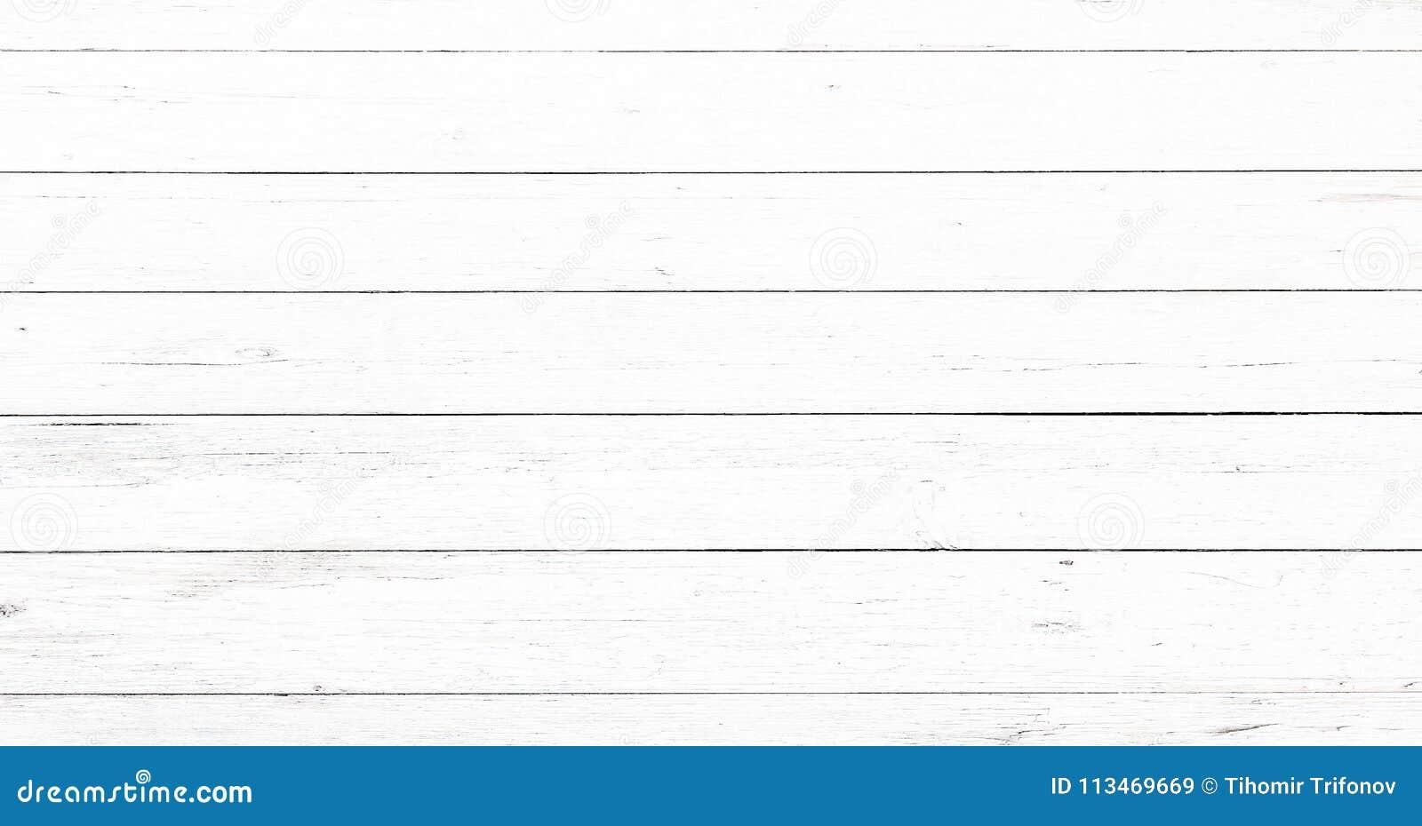 Surface en bois molle de texture de lavage blanc léger comme fond Le grunge a blanchi la vue supérieure de planches de modèle en