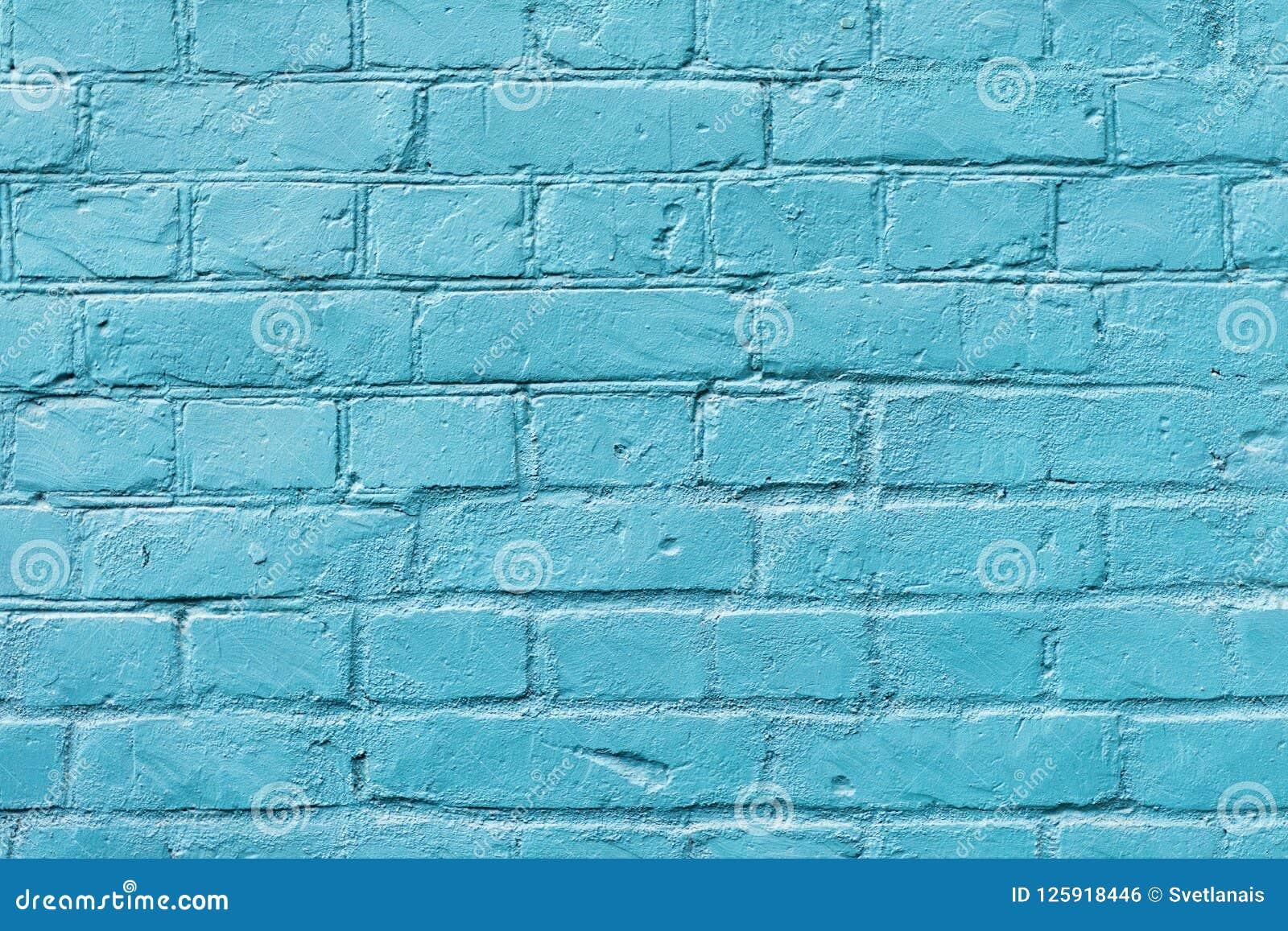 Peinture Pour Brique Extérieur surface peinte de brique en gros plan avec la couleur