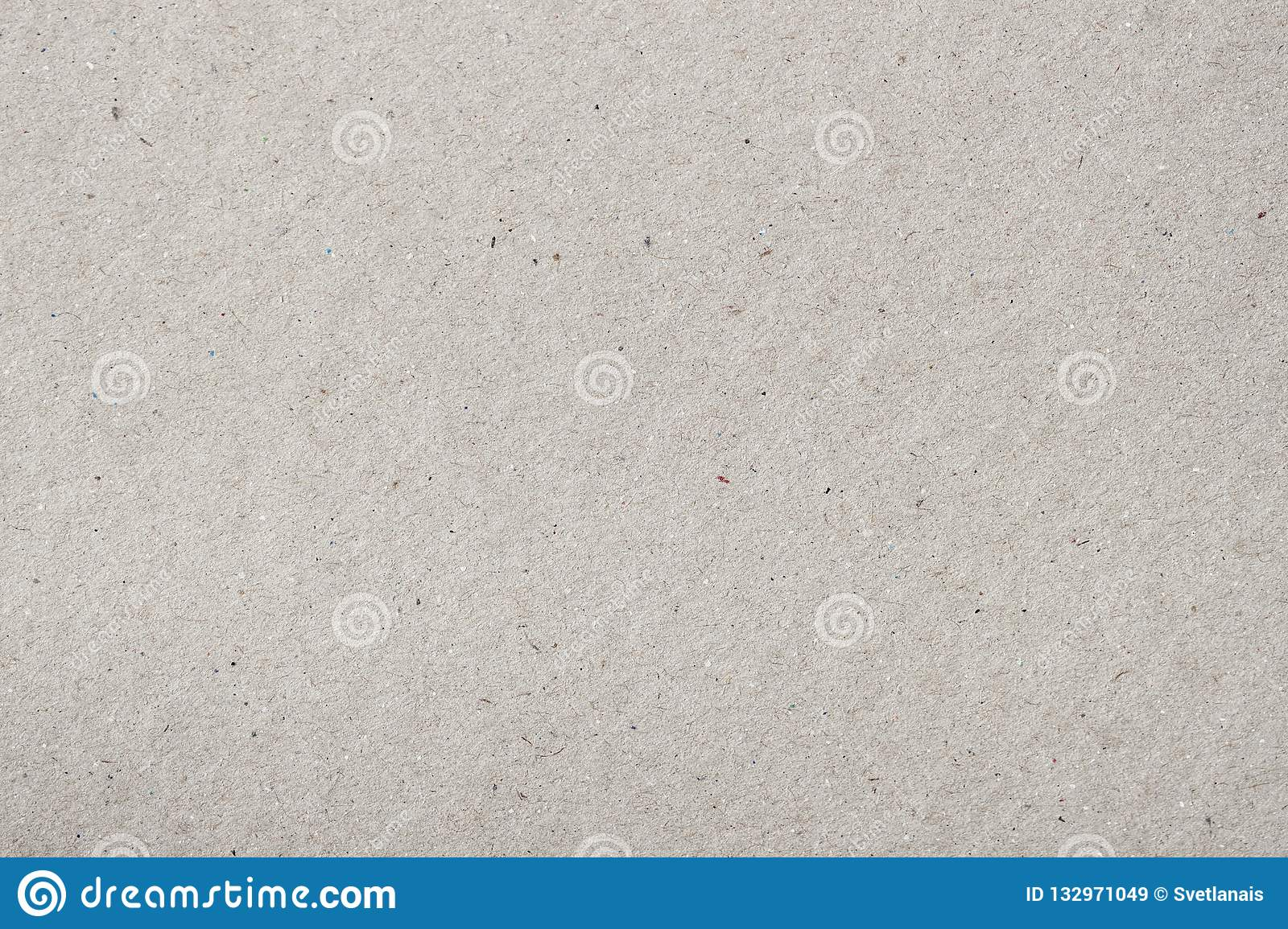 Surface of organic paper, recyclable materia with small inclusions of cellulose. Blank for your design. Texture of old