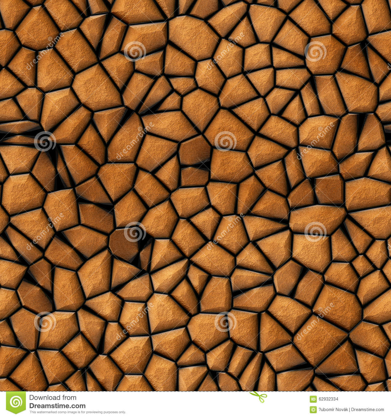 Surface stones abstract seamless texture