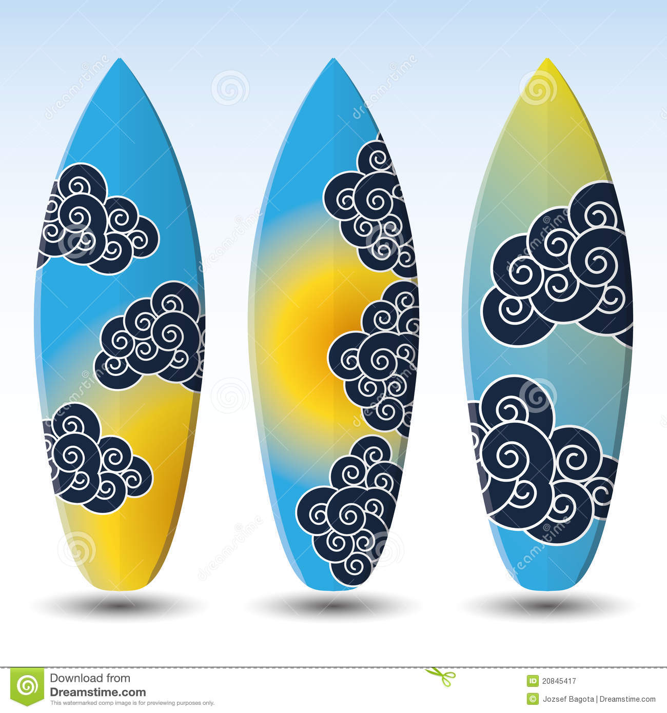 Designs Surfboard pictures catalog photo