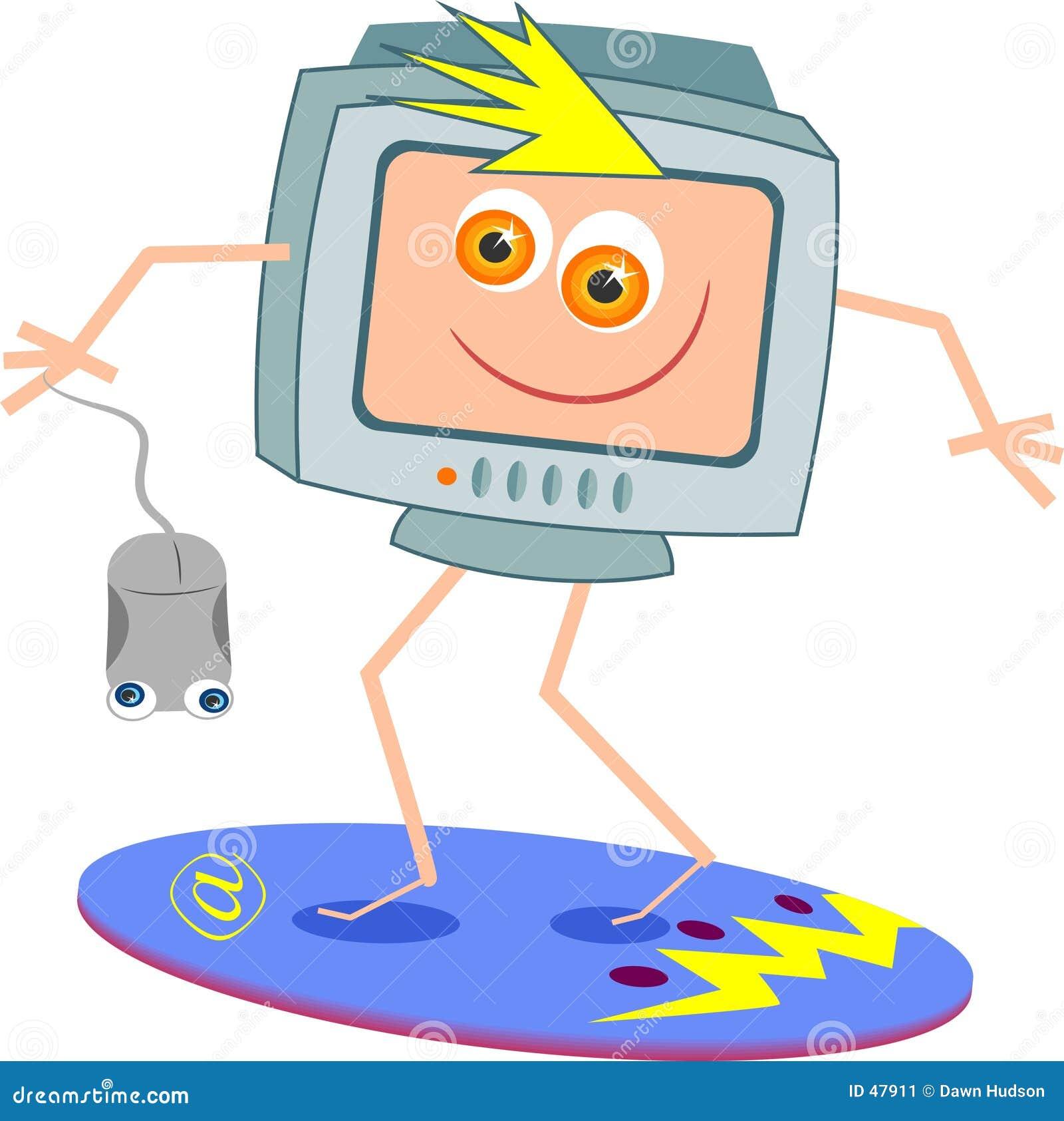 Surfen des Internets