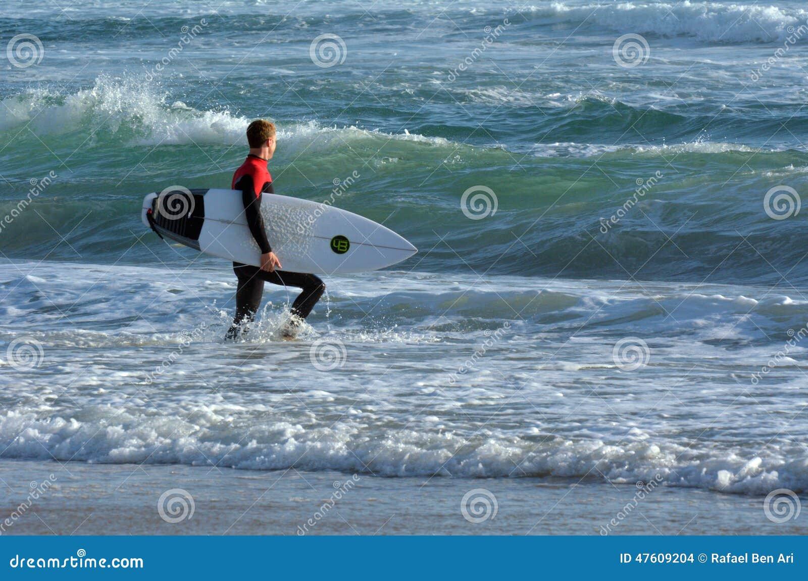 Surfer στο Gold Coast Αυστραλία παραδείσου Surfers