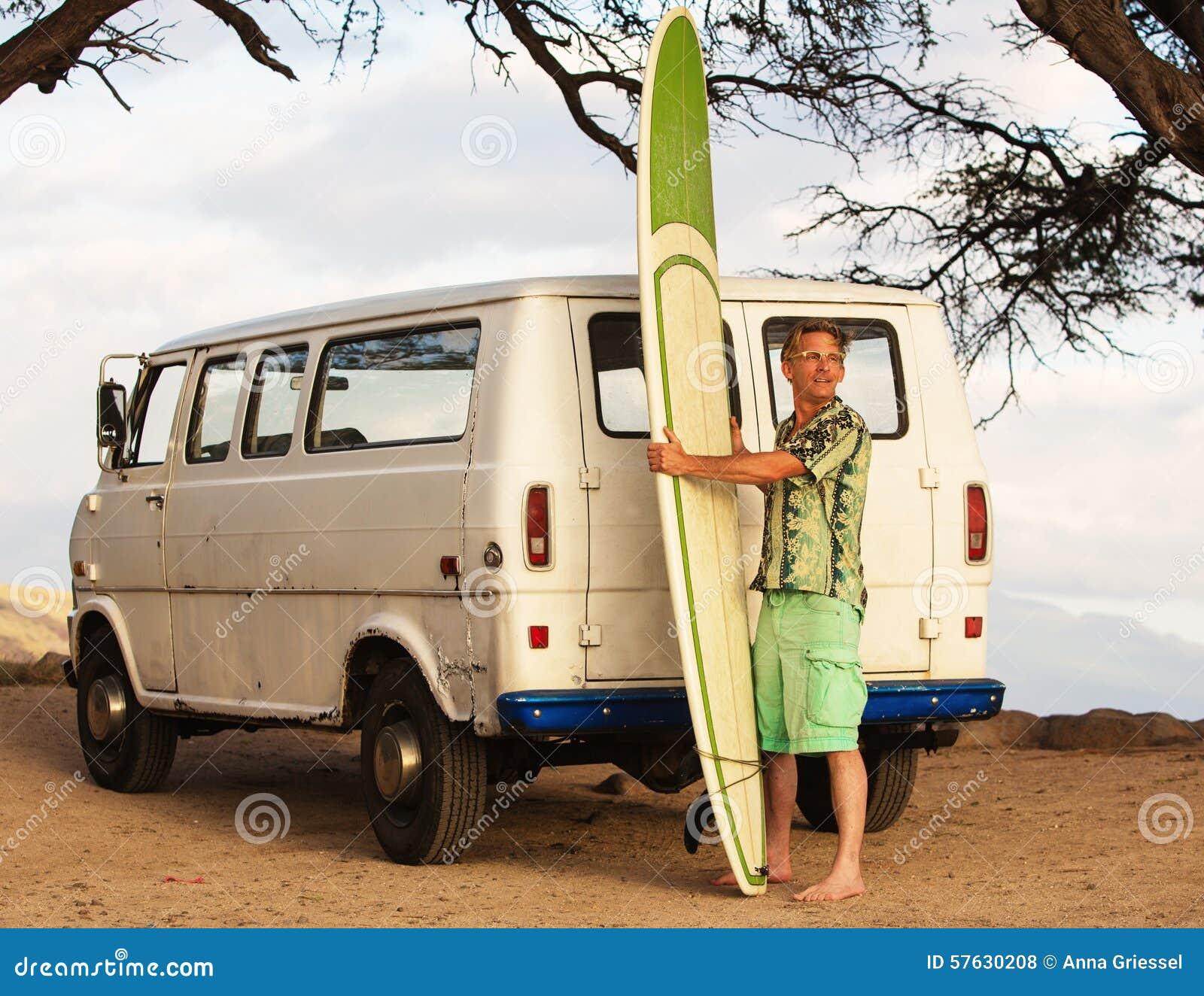 Surfer van