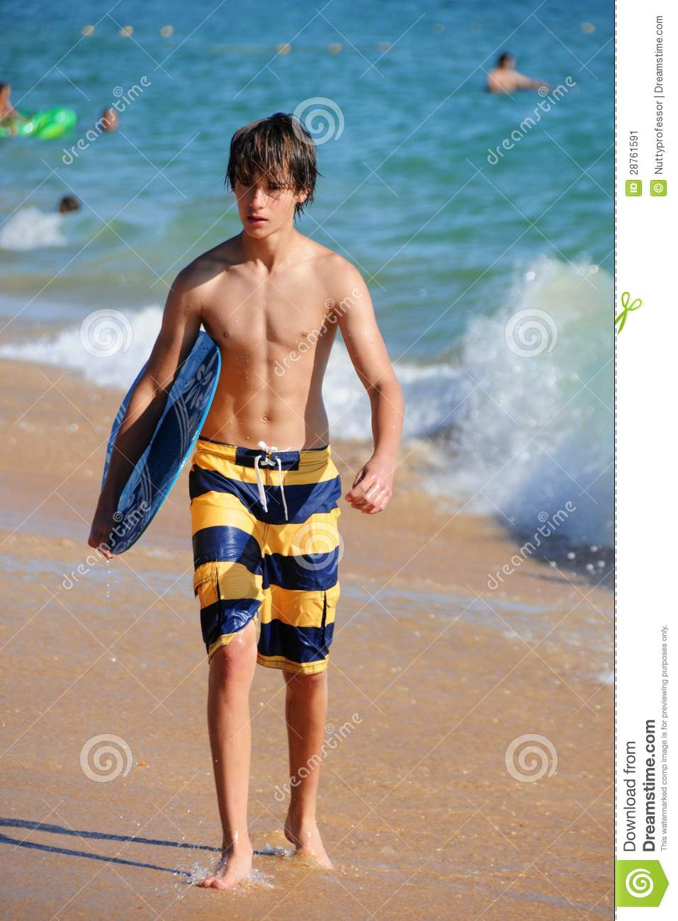 Surfer Boy Stock Image Image 28761591