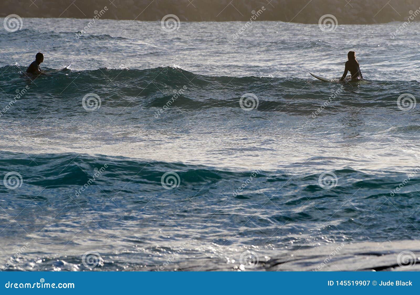 Surfer d homme et de femme