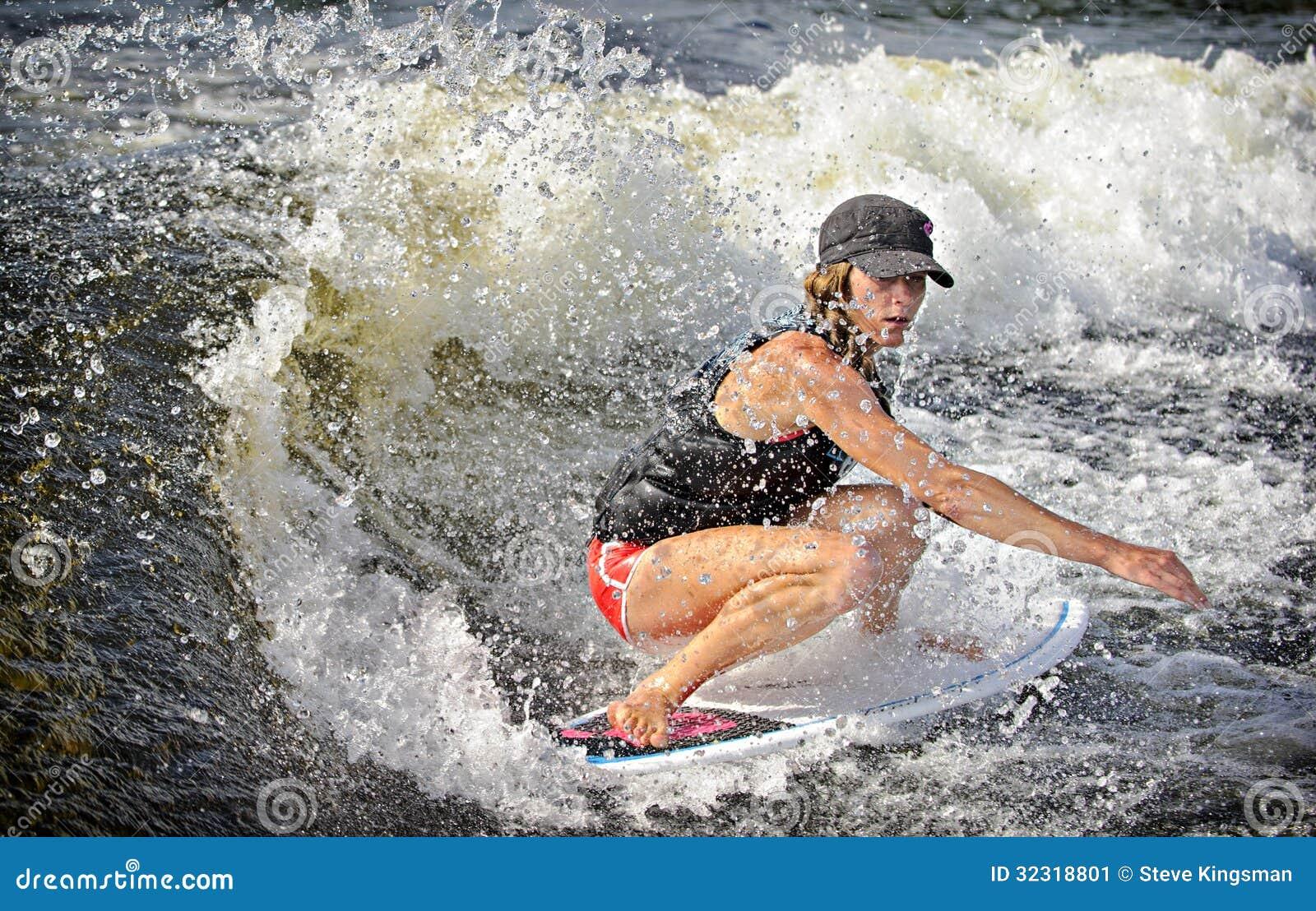 Surfer de sillage