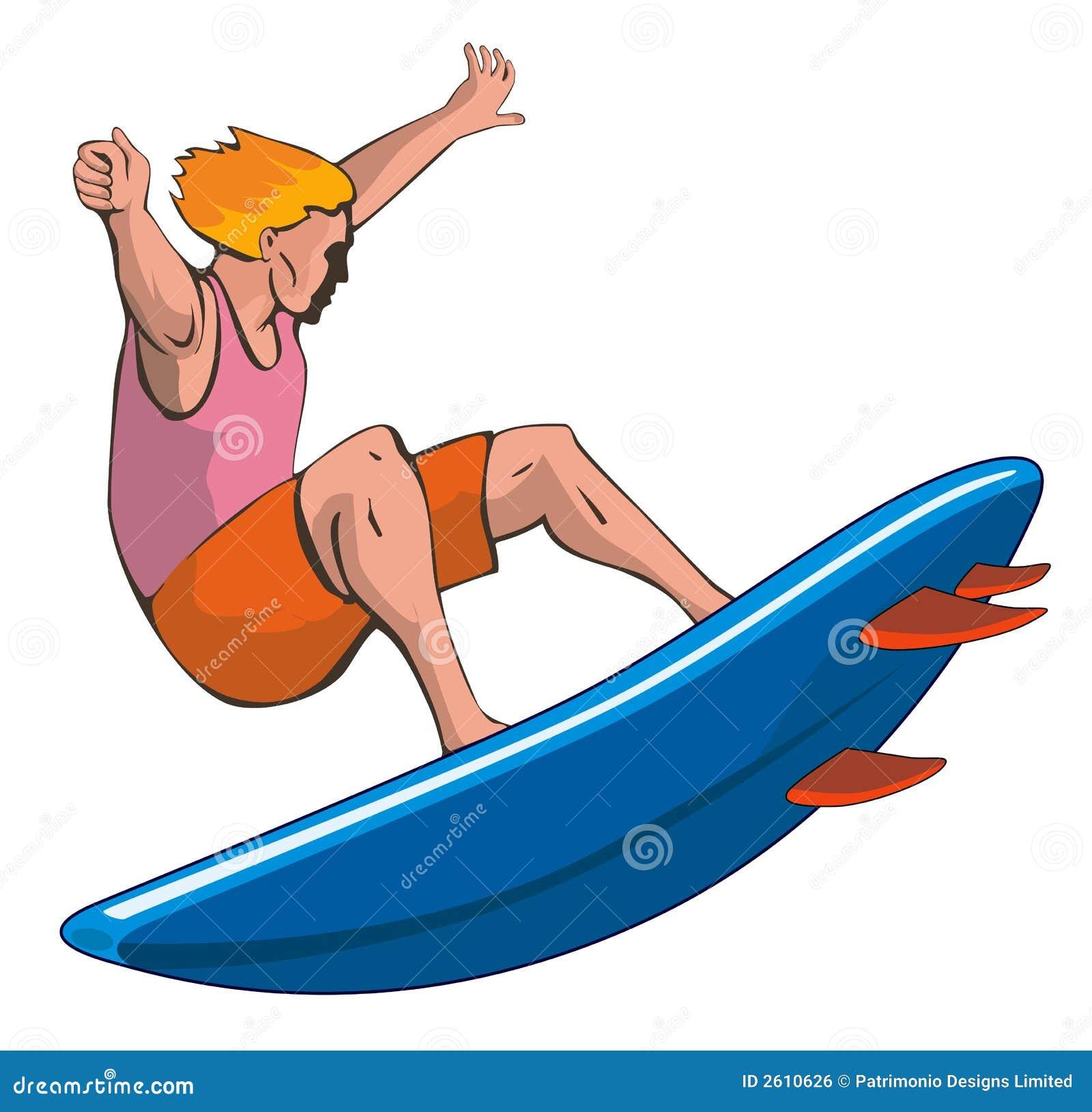Surfer Dude Surfboard