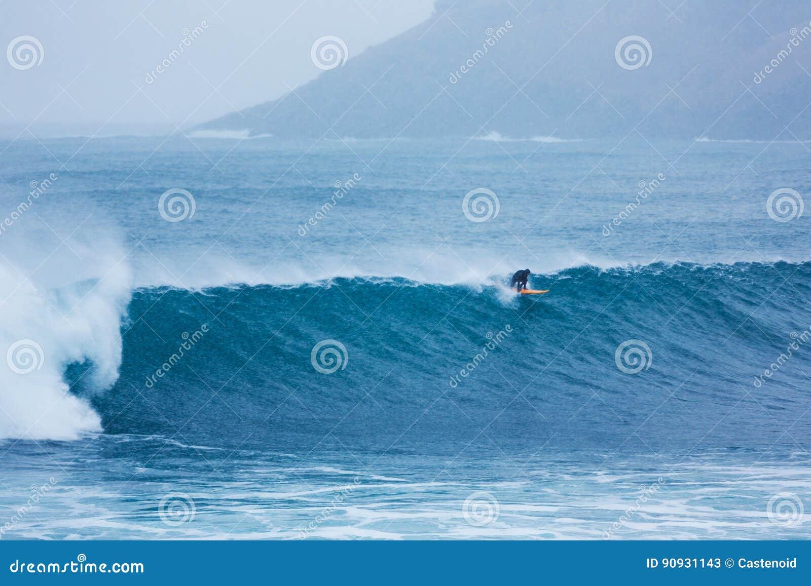Surfer Nordsee