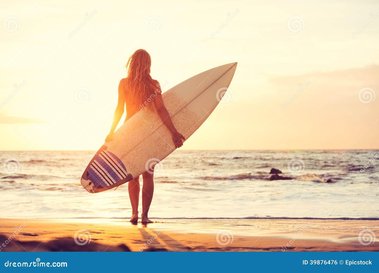 Surfer Girl Surfboard