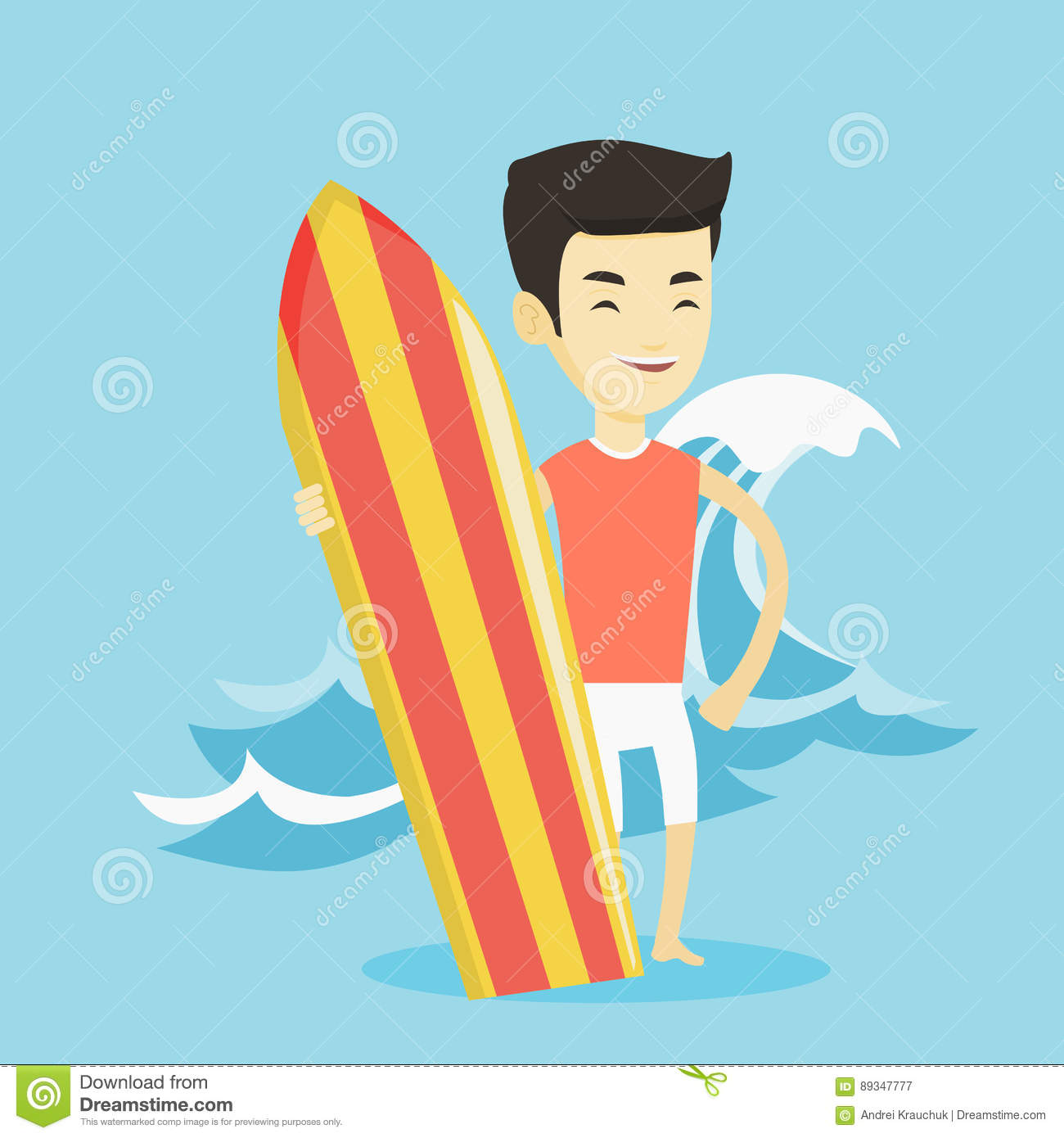 surfer man with surfboard on sea coast royalty free stock surfboard clip art outline surfboard clip art to color