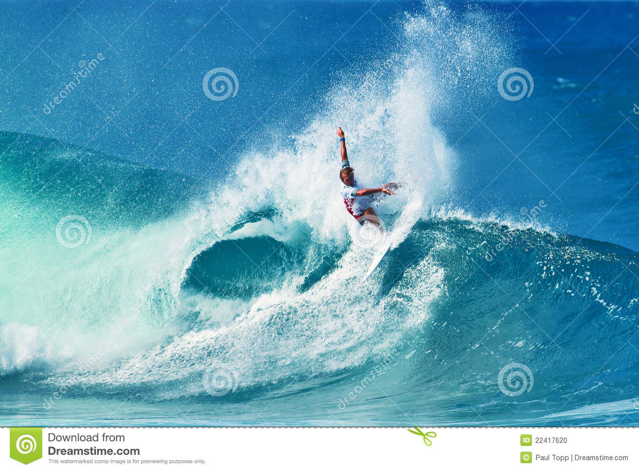 490713b23dc6ea Surfer Owen Wright Surfing Pipeline In Hawaii Editorial Image ...
