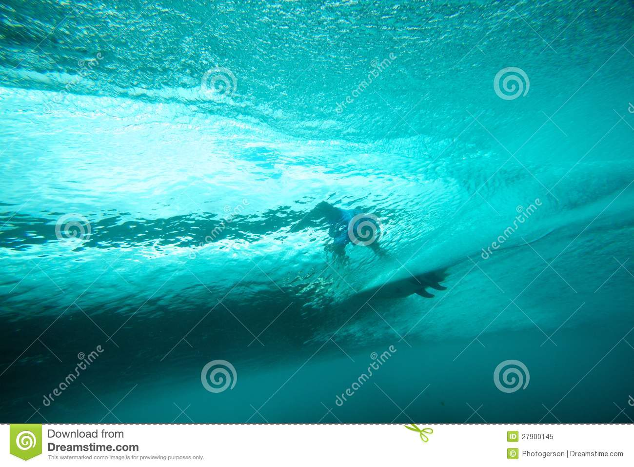 Images for clear underwater vision