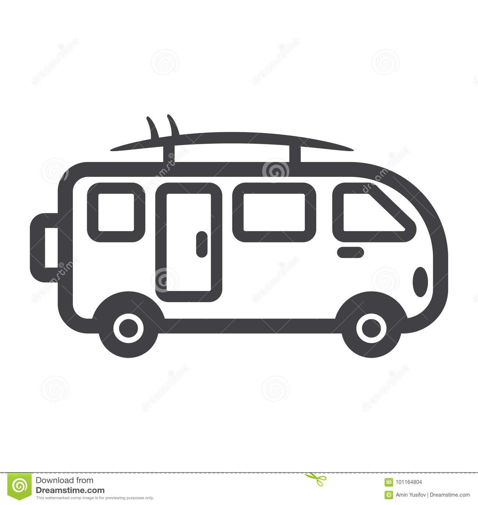 12a3c64ad7 Surfer Van Line Icon