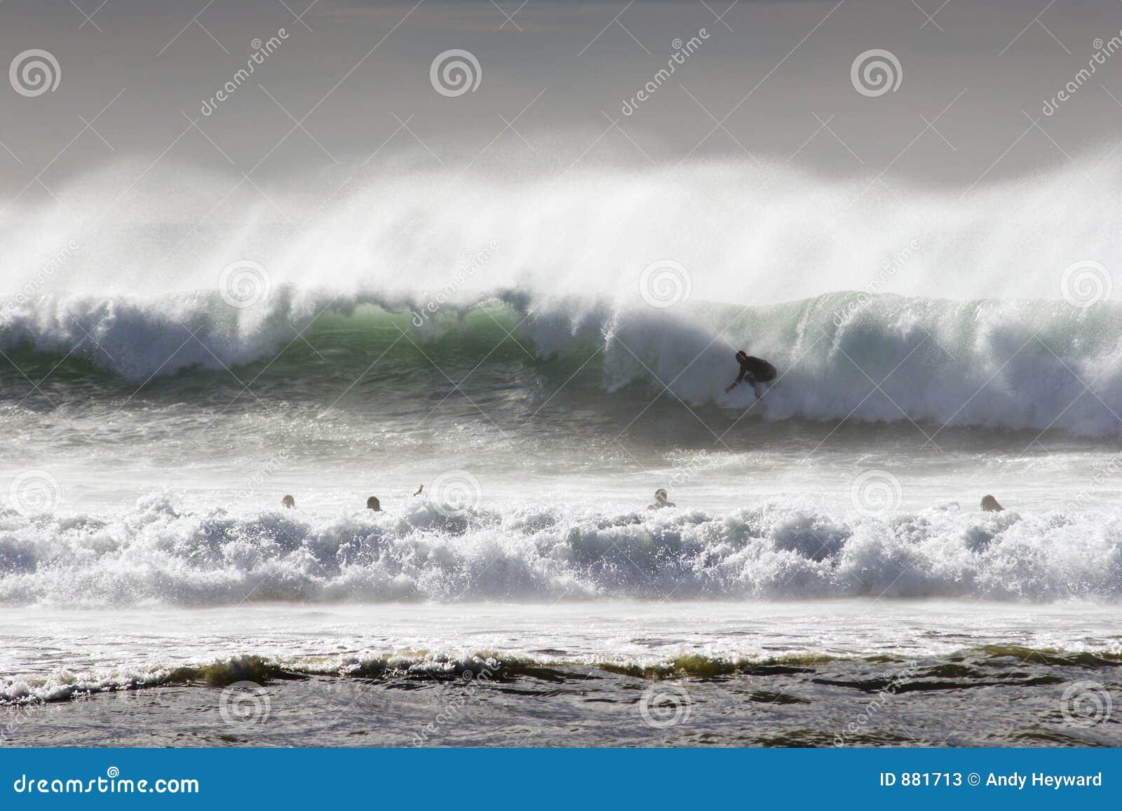 Surfer wody