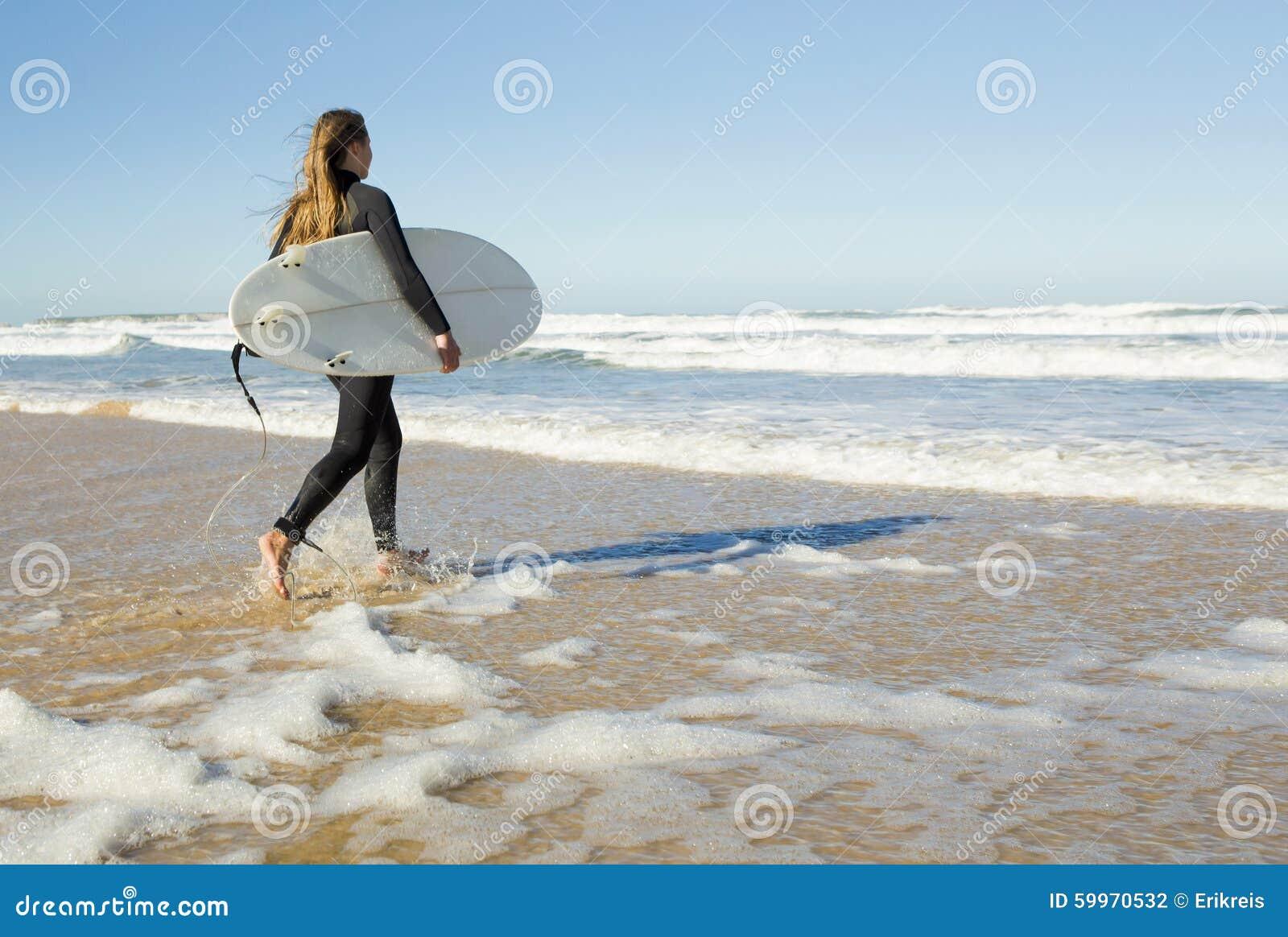 Surfermeisje