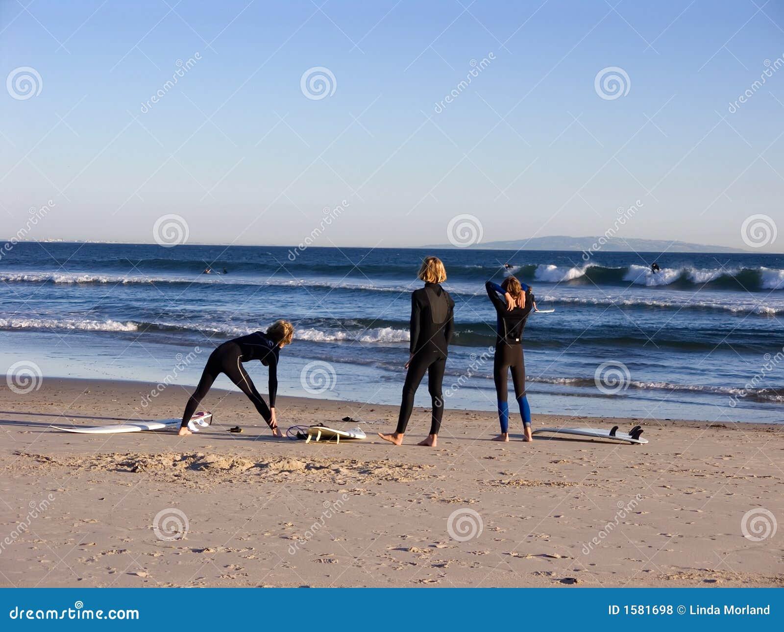 Surfers τρία