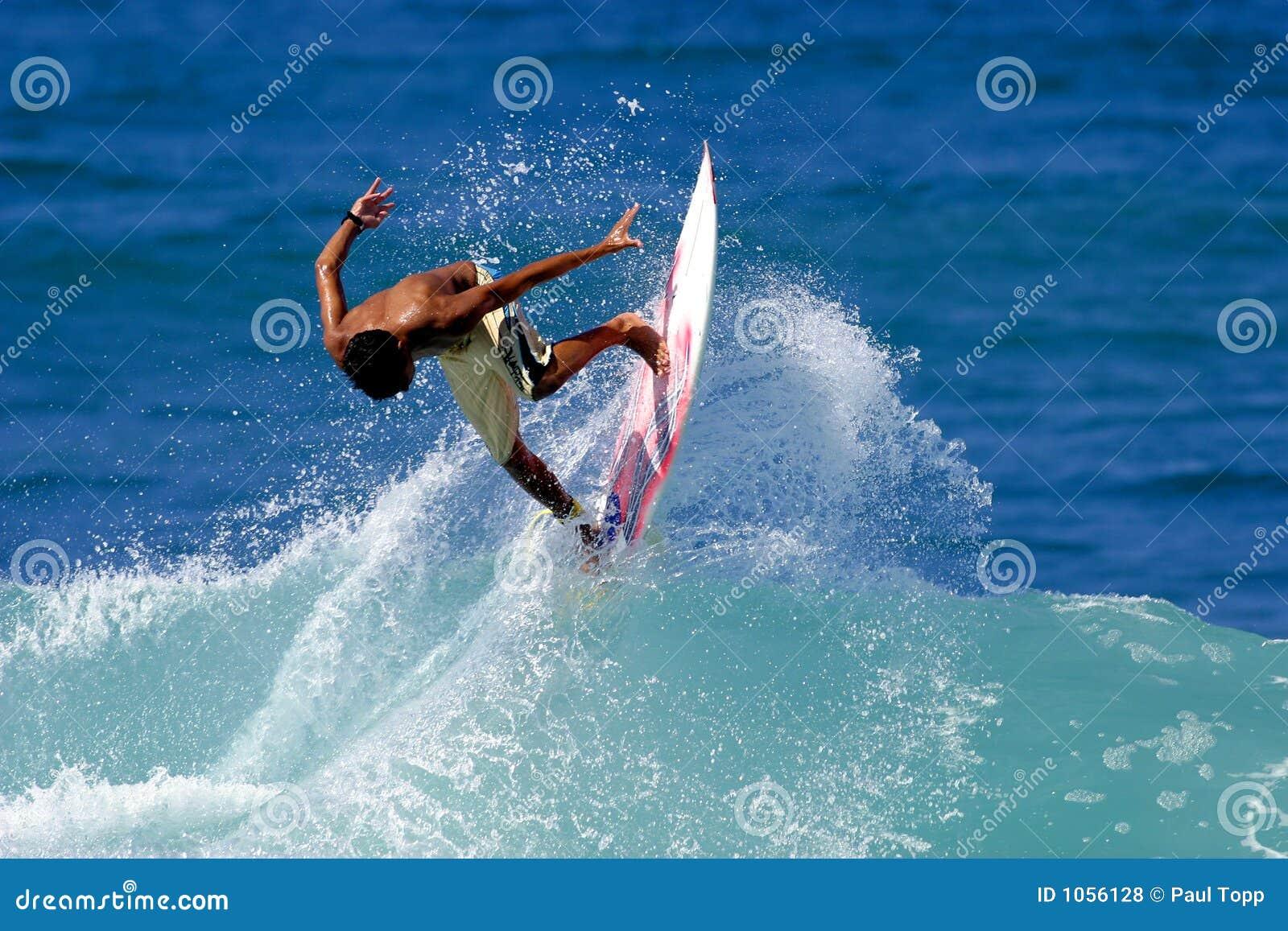 Surfboard In Water