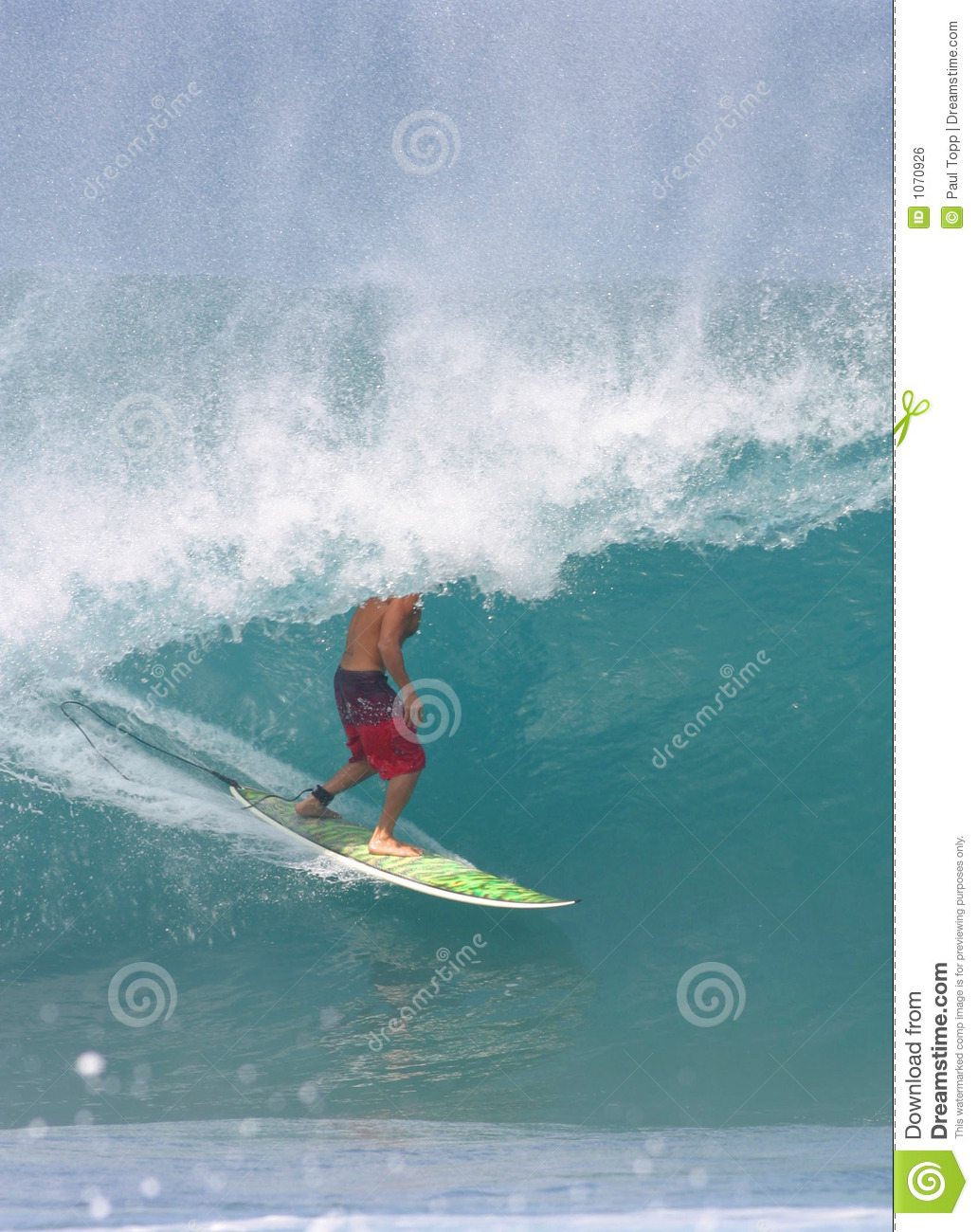 Surfing The Pipeline Stock Photo Image Of Hawaii Ocean