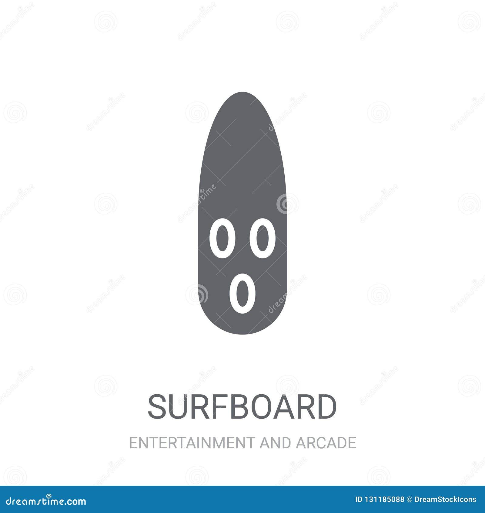 Surfingbrädasymbol