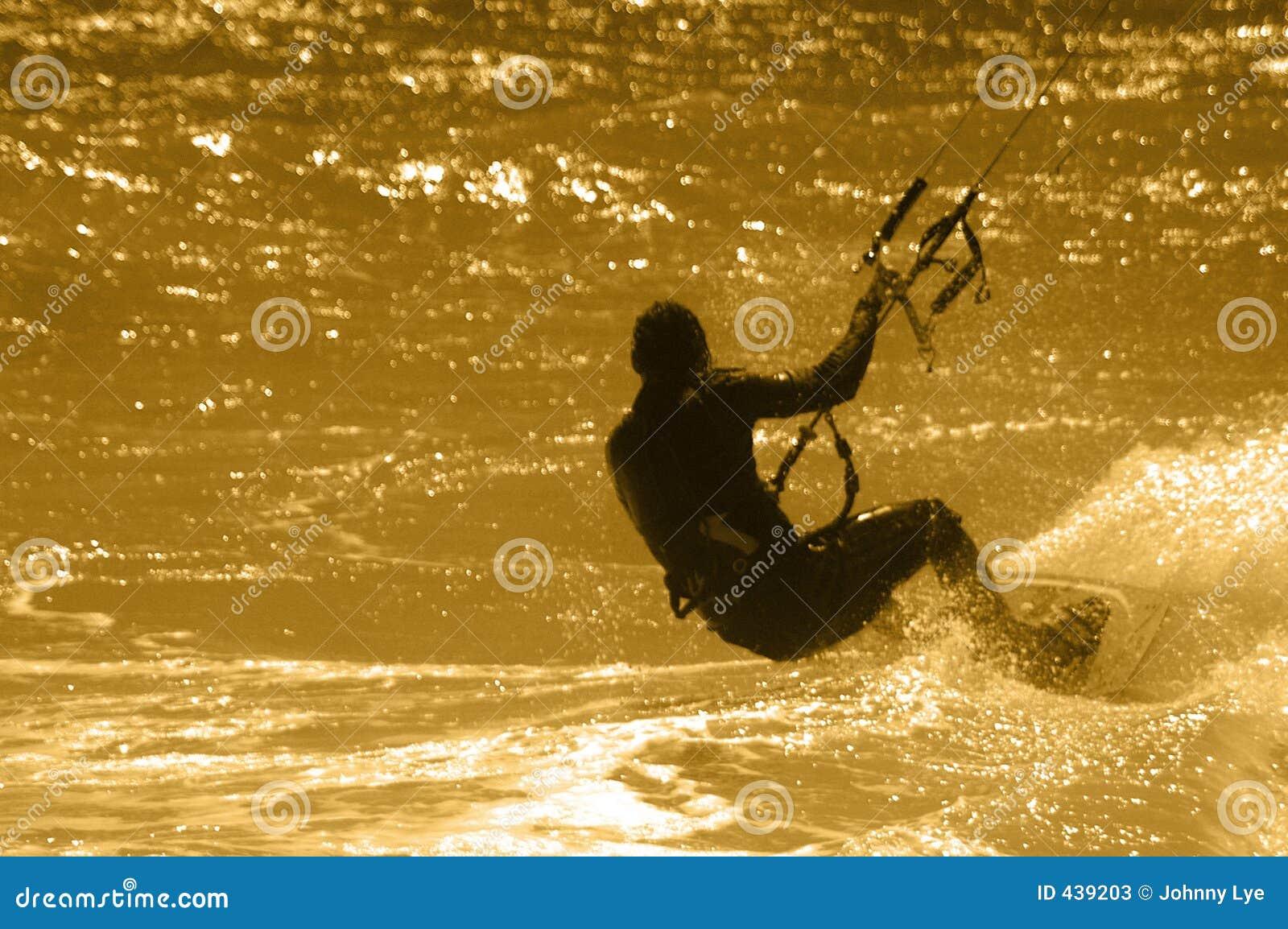 Surfista del cervo volante