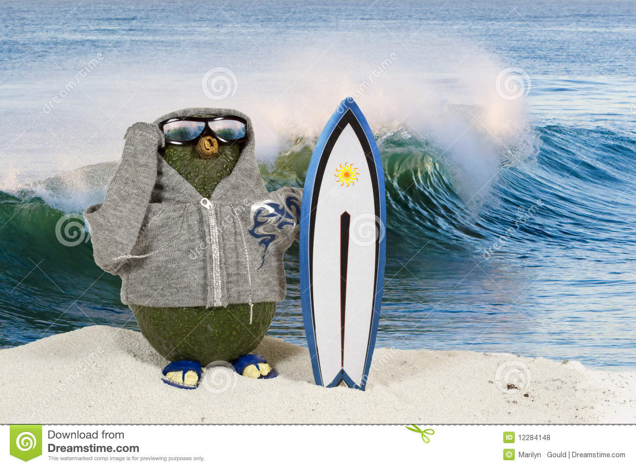 Surfista do abacate