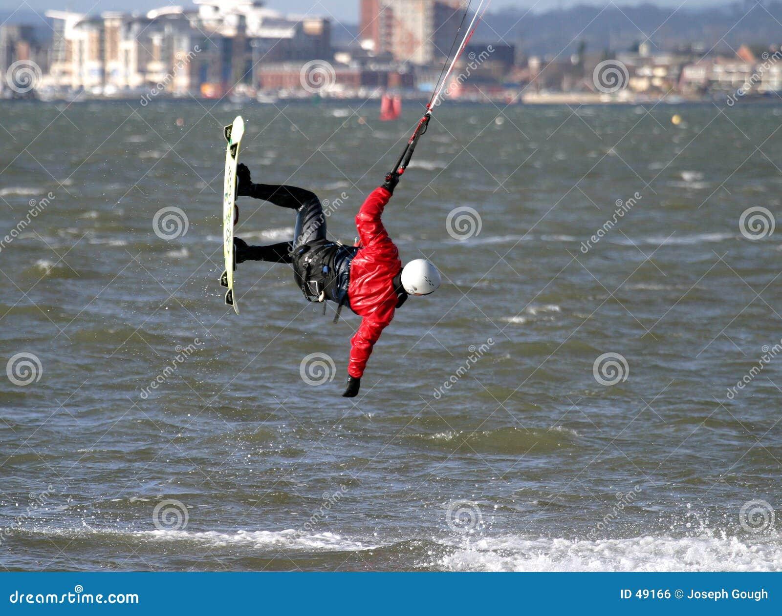 Surfista do papagaio