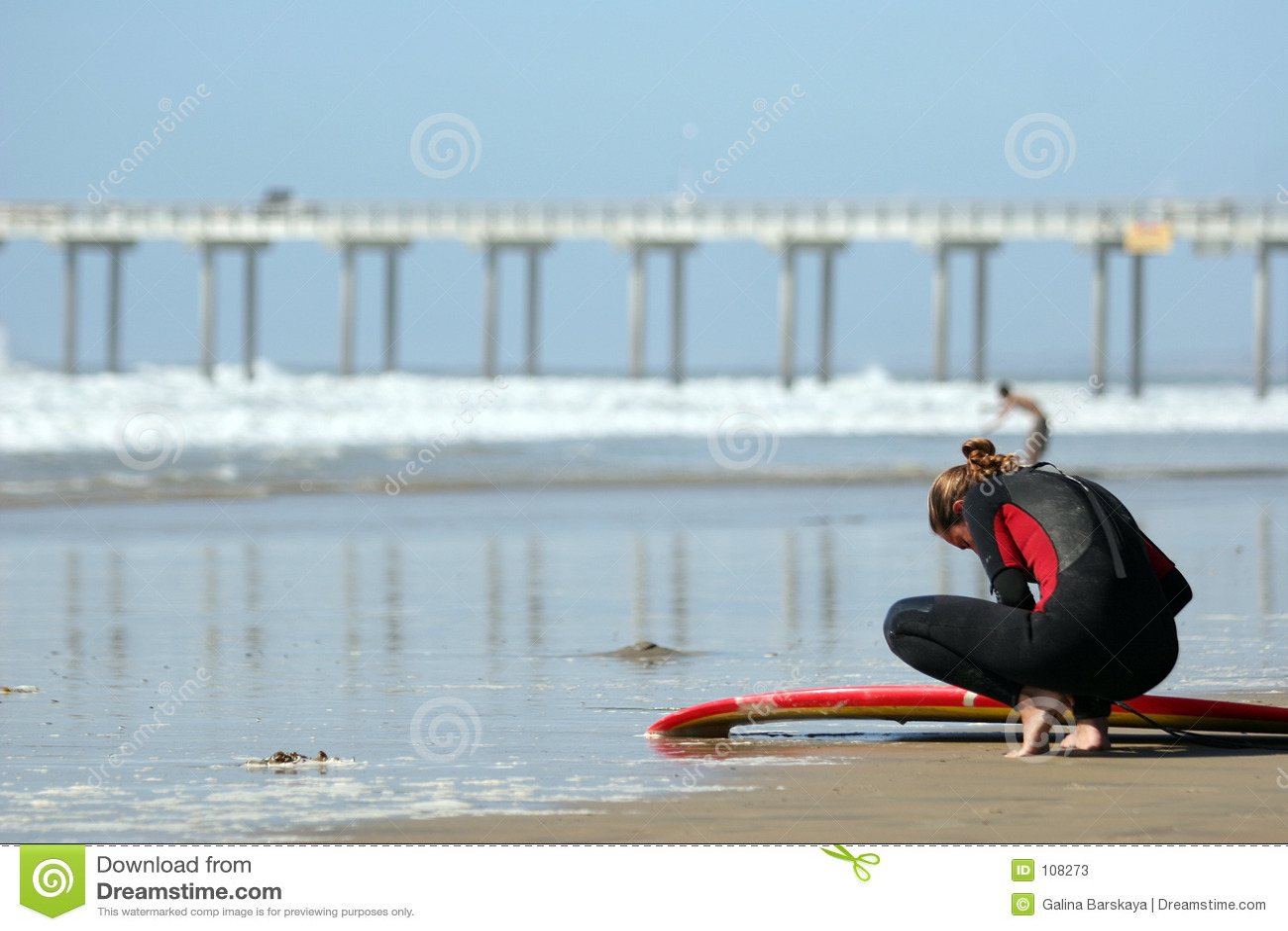 Surfista novo