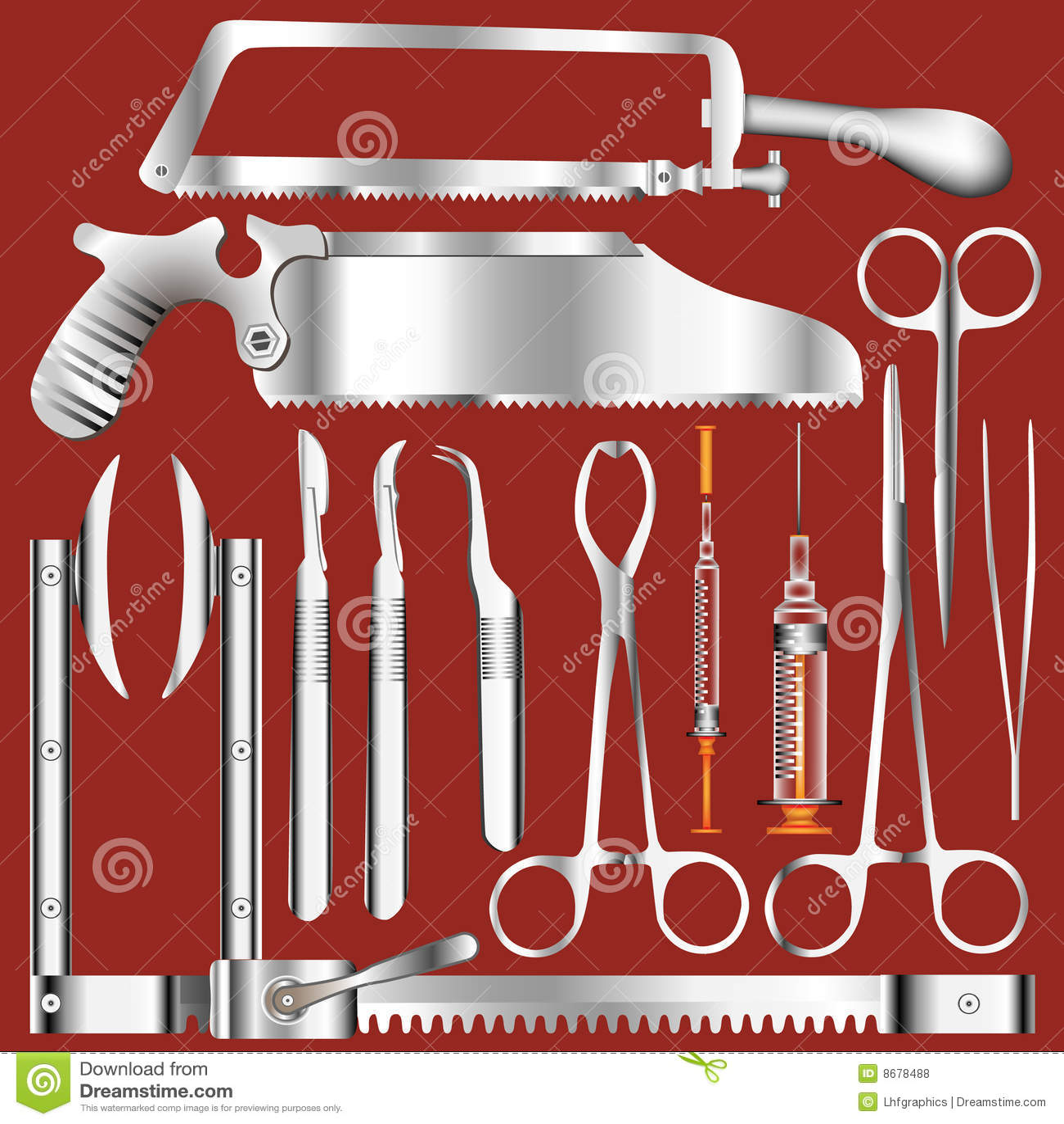 Surgery Tools Royalty Free Stock Photos - Image: 8678488
