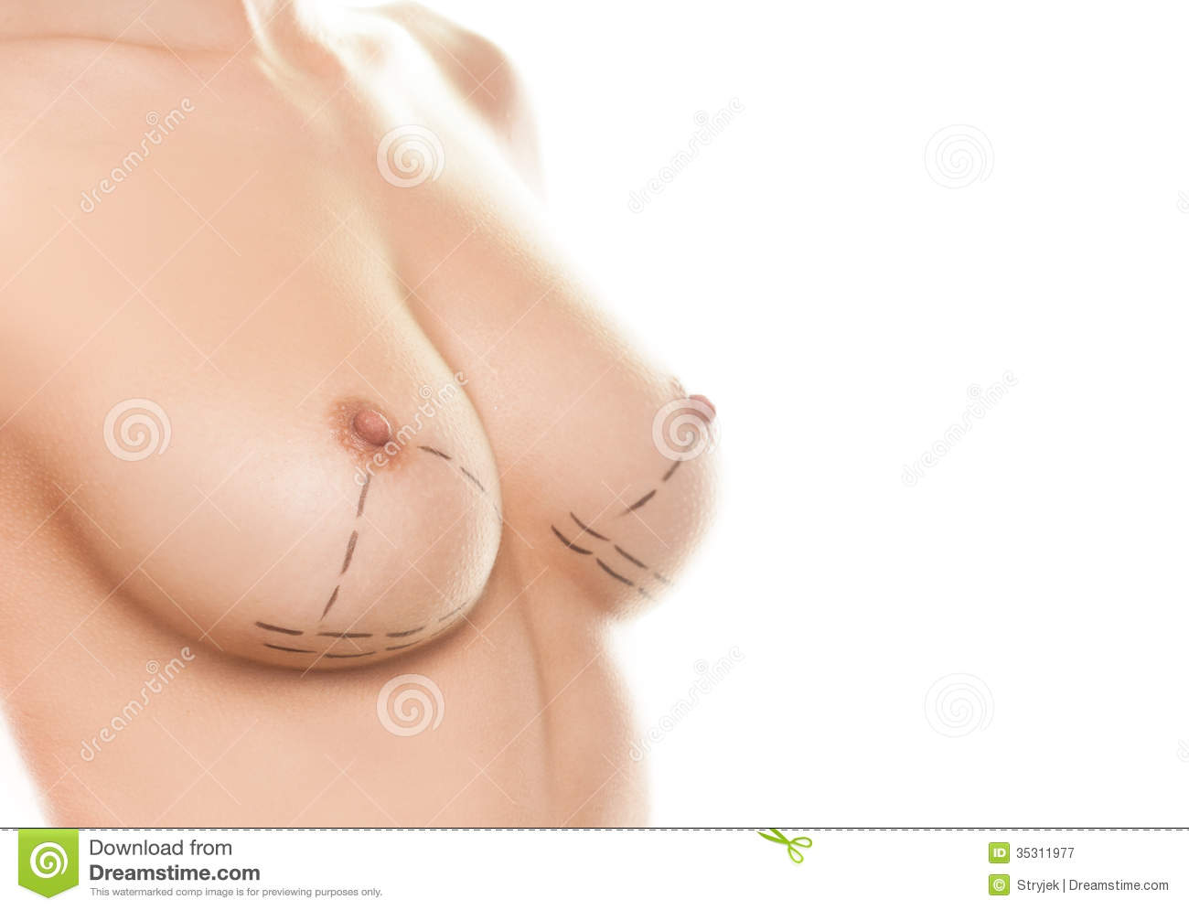 Female Breast Nude 4