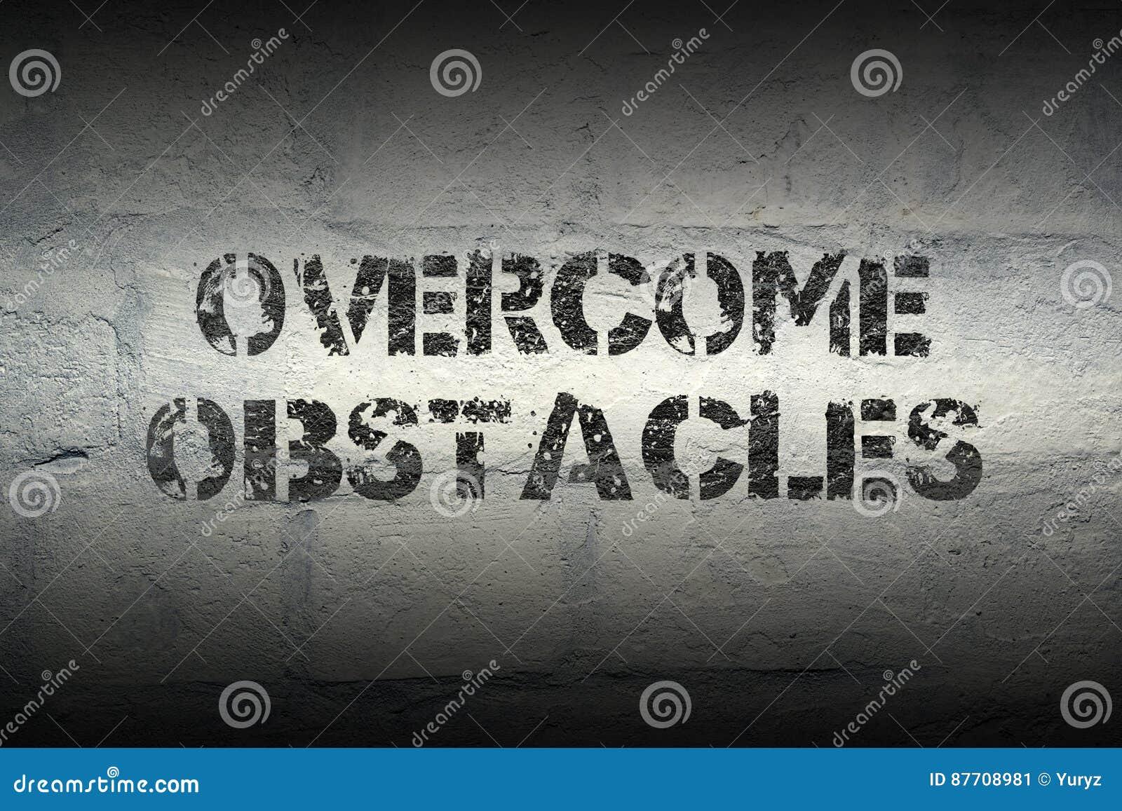 Surmontez les obstacles GR