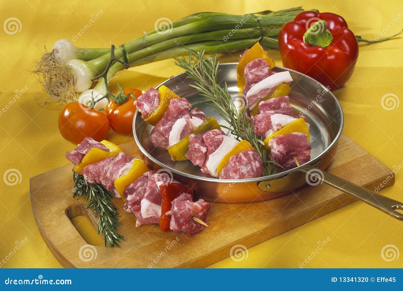 Surowa kebab TARGET251_0_ niecka