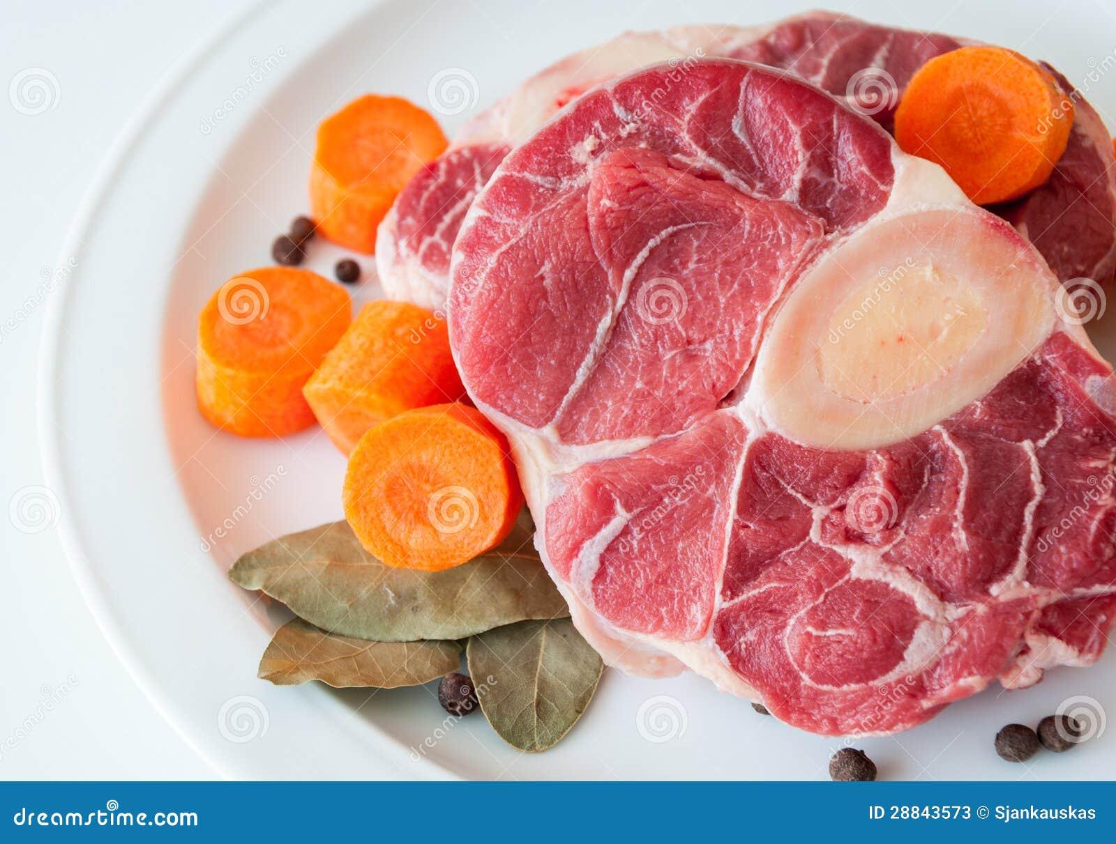 Surowy wołowiny zbliżenie