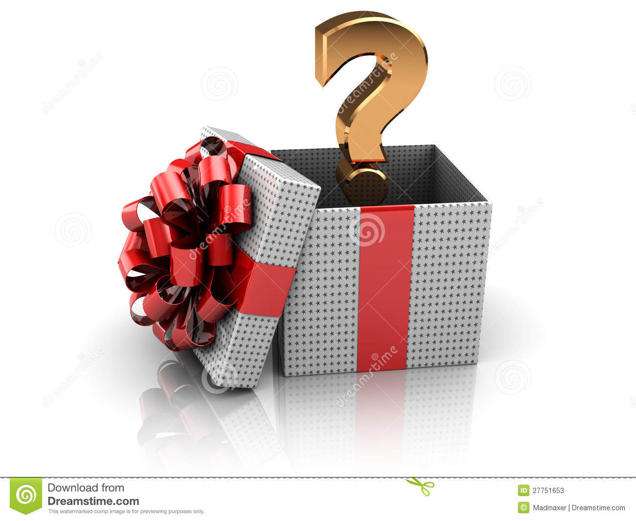 Surprise Present Stock Photos - Image: 27751653