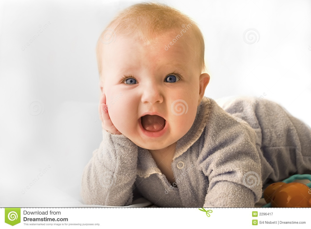Surprised Baby Stock Image. Image Of Young, Surprised