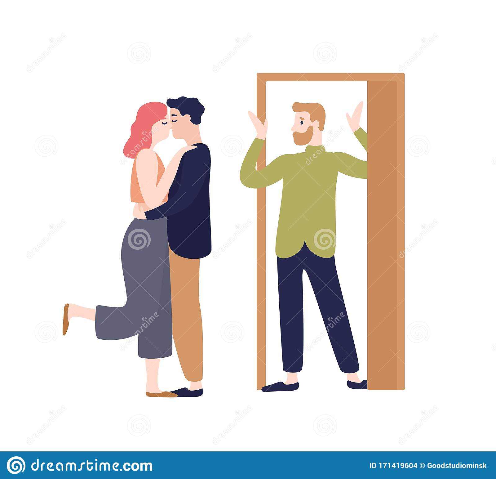 Cheating Wife Stock Illustrations – 211 Cheating Wife Stock Illustrations,  Vectors & Clipart - Dreamstime