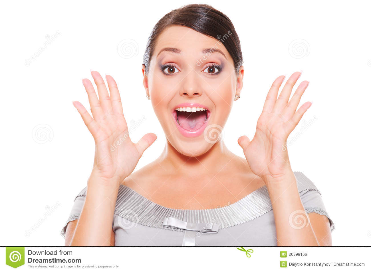 Surprised Woman Royalty Free Stock Image - Image: 20398166 Woman