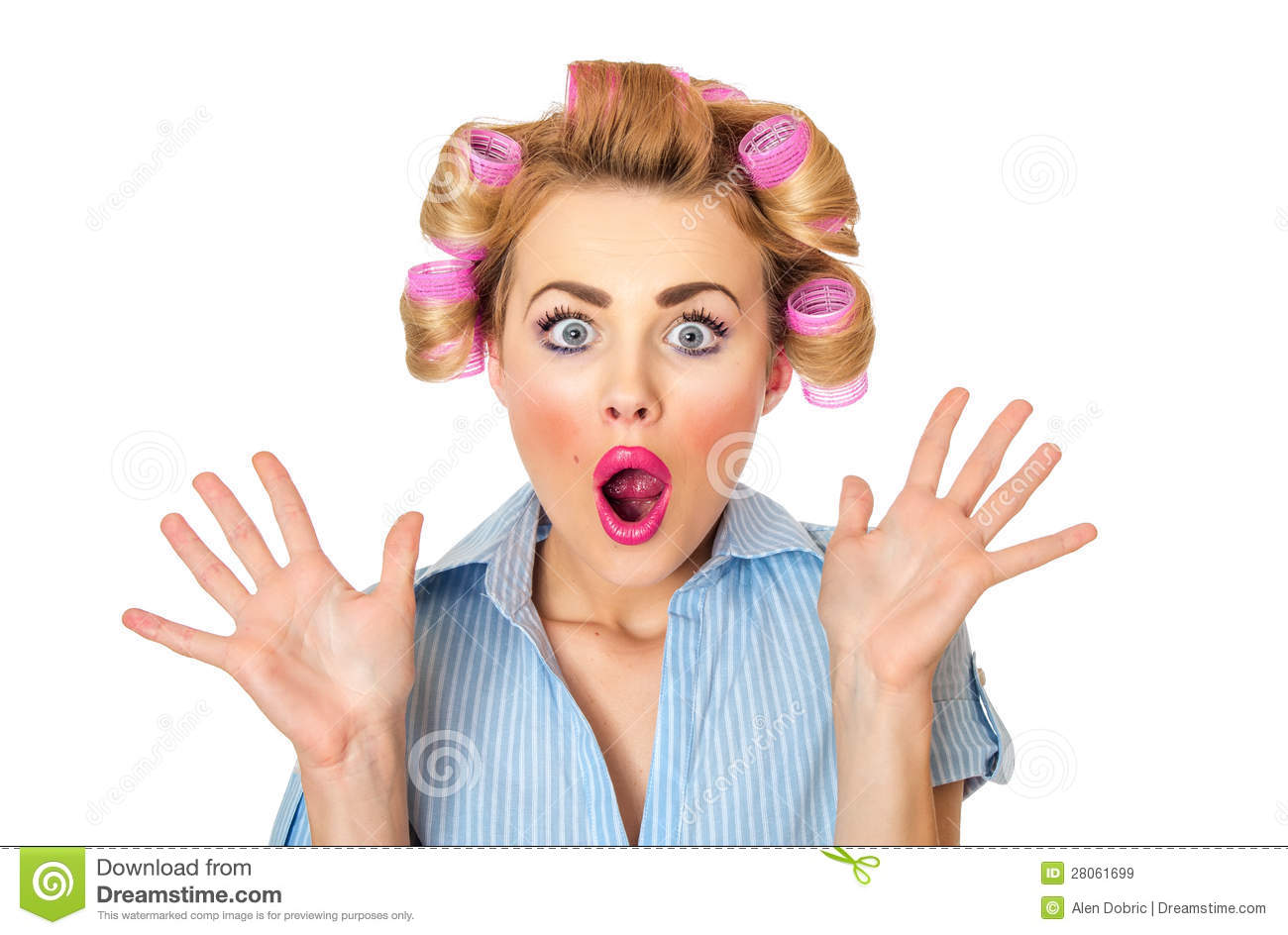 surprised woman royalty free stock images image 28061699 Vector Face Cartoon Mouth Vector